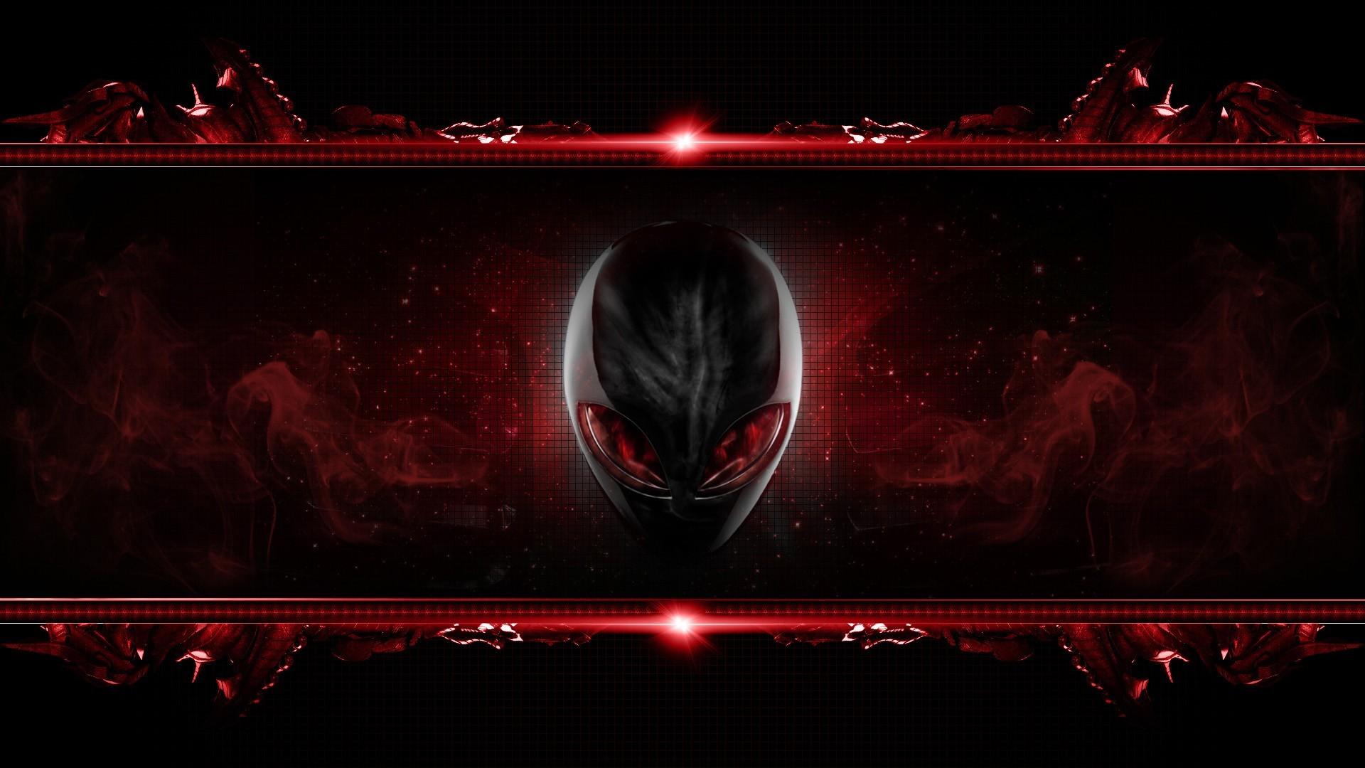 alienware-red-hd-wallpaper