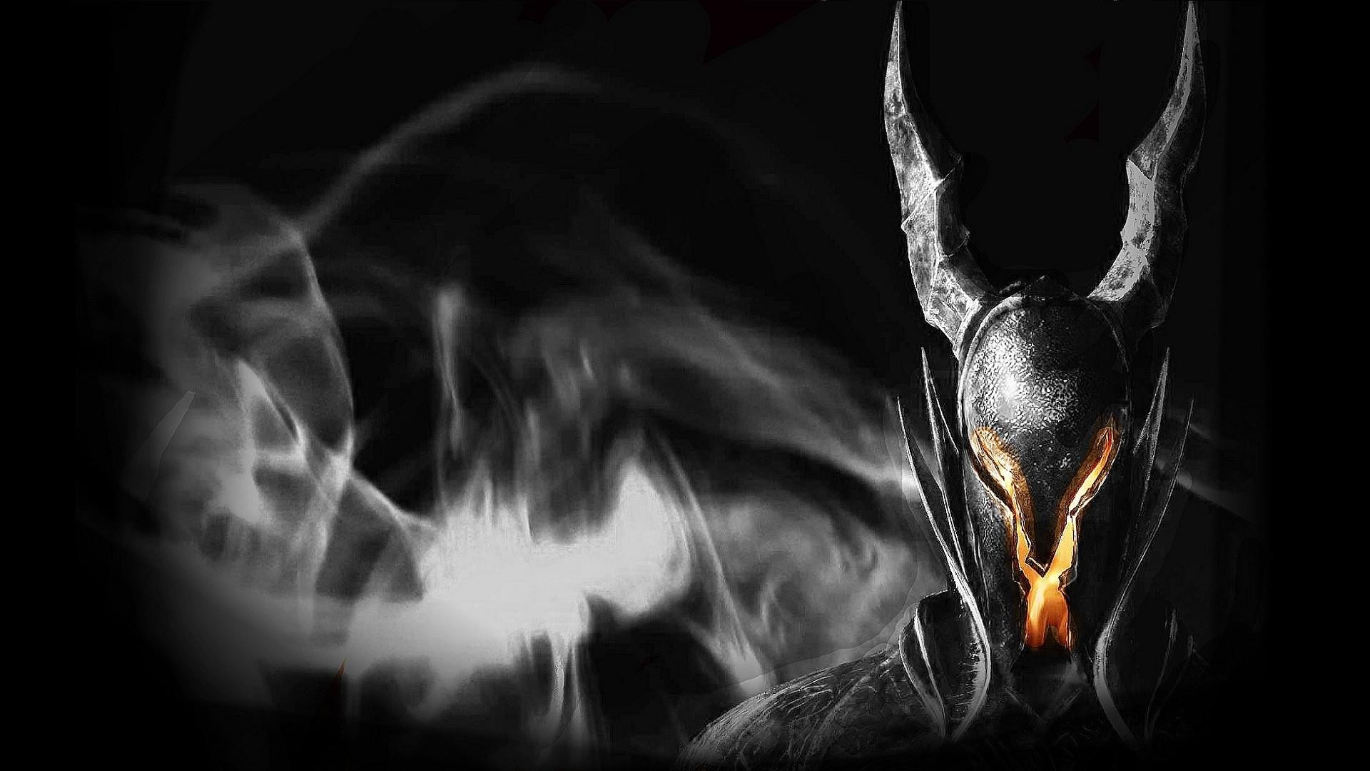 Wallpaper dark souls, helmet, light, fire, look