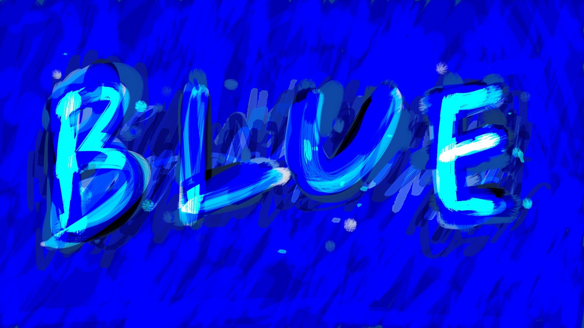 Download Wallpaper Blue, Label, Background, Paint Full HD .