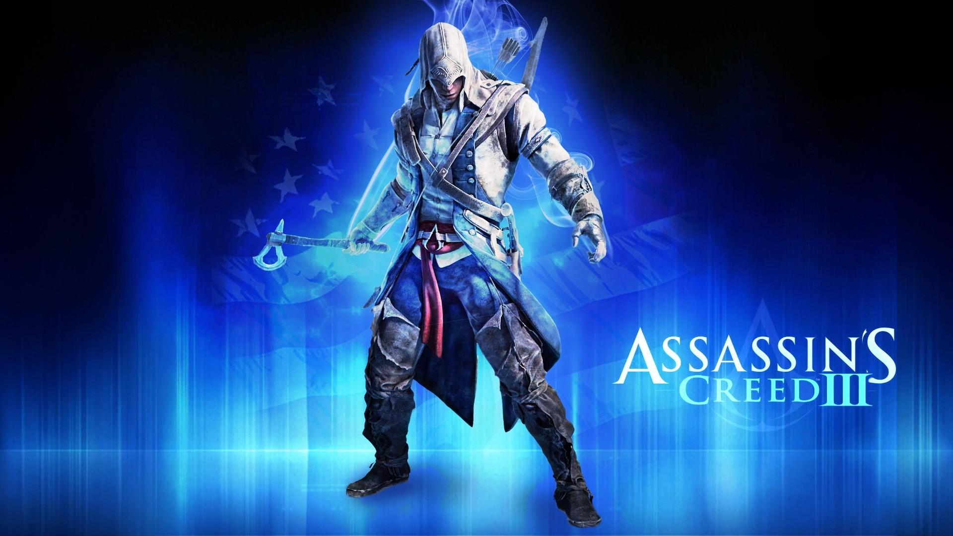Video games blue assassin Assassins Creed Assassins Creed 3 fan