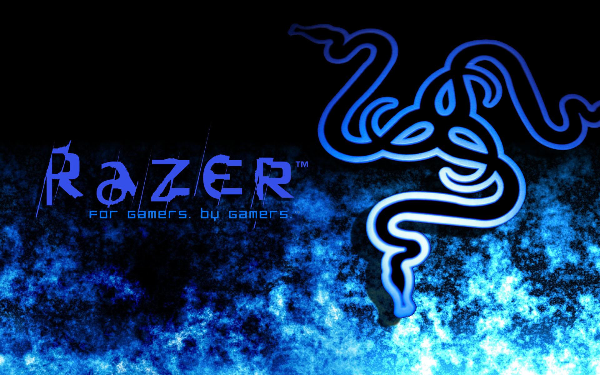 razer logo blue hd – photo #10