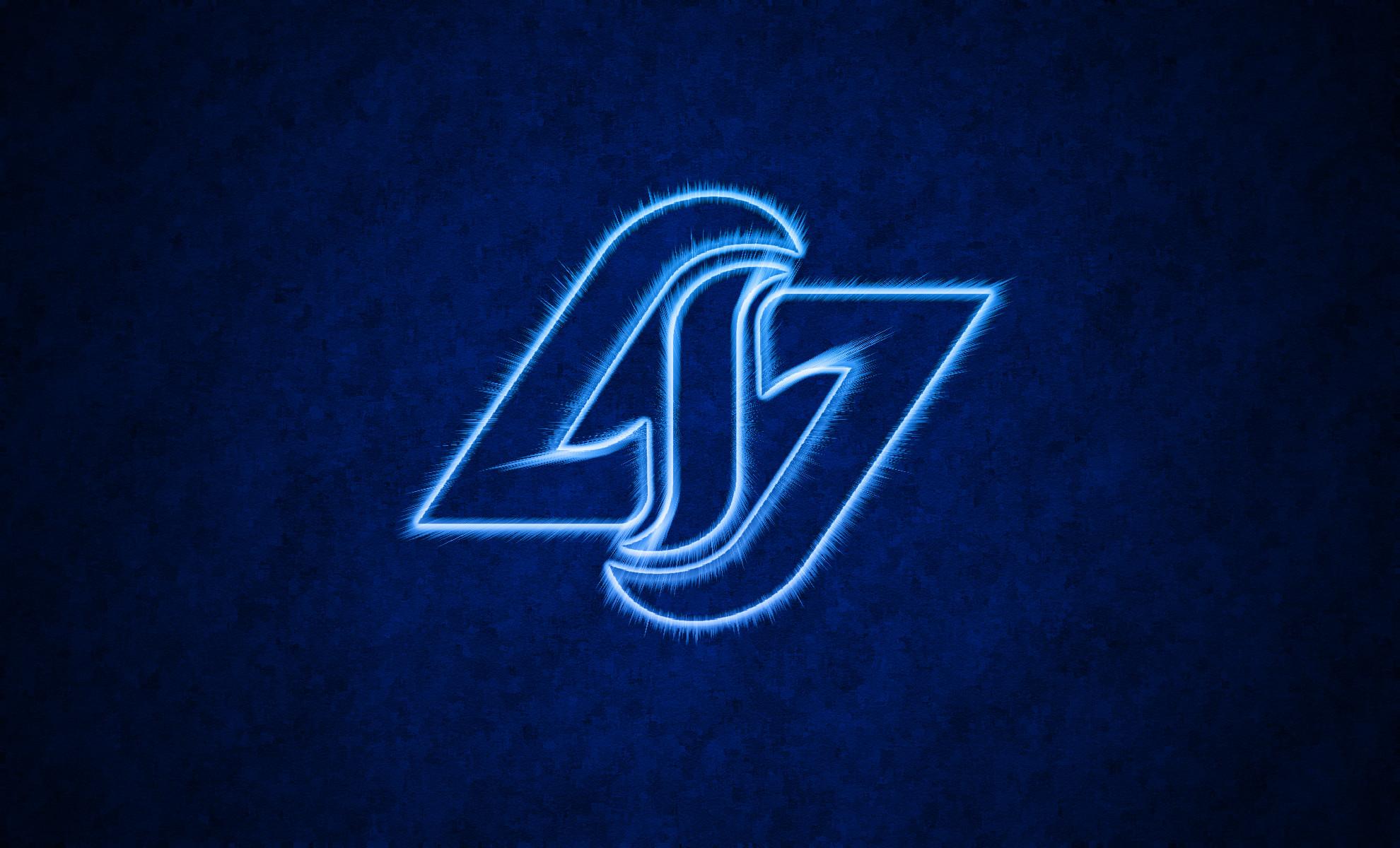 CLG   Counter Logic Gaming Dark Blue Wallpaper