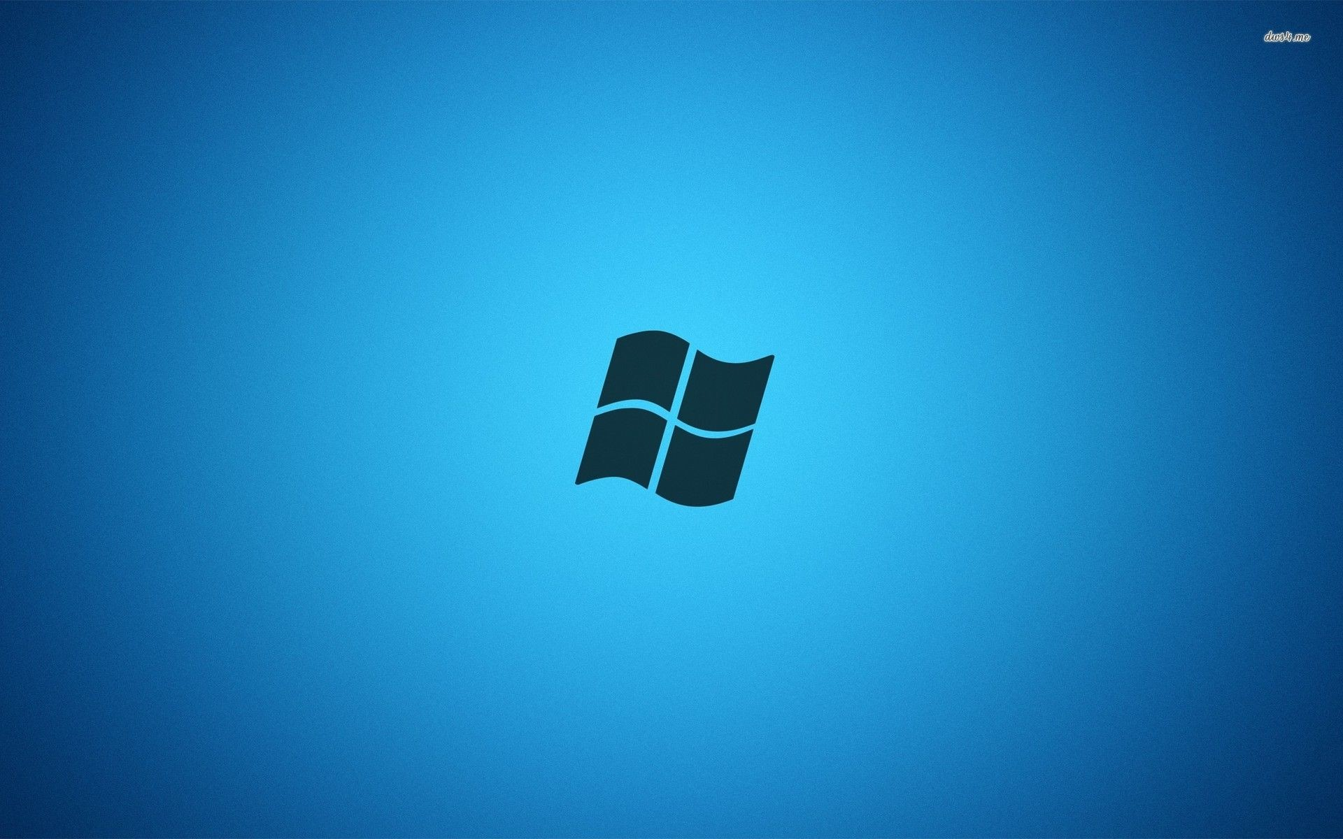 Dark blue Windows 7 logo wallpaper – Computer wallpapers – #44304