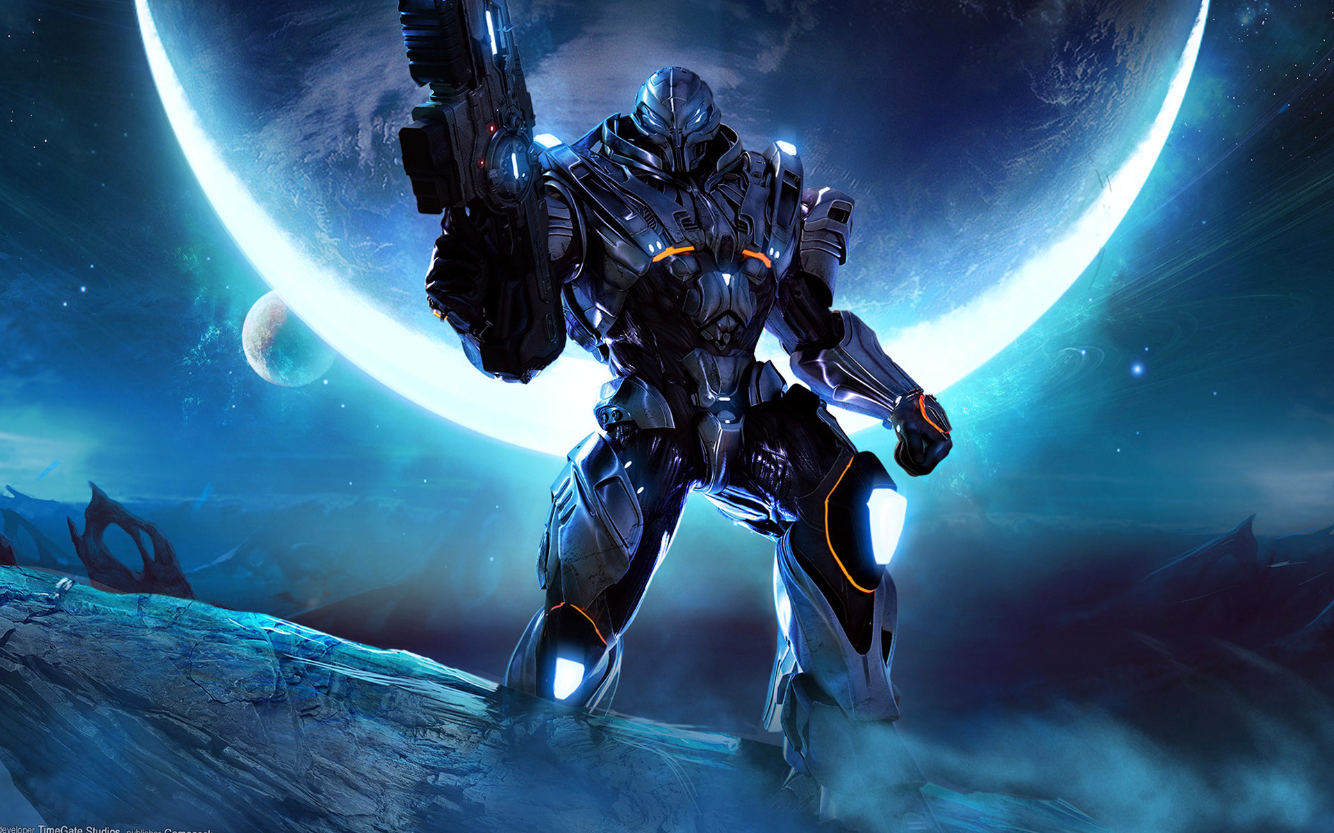 Category : Game Wallpapers » Cool Game Robot Dektop -px