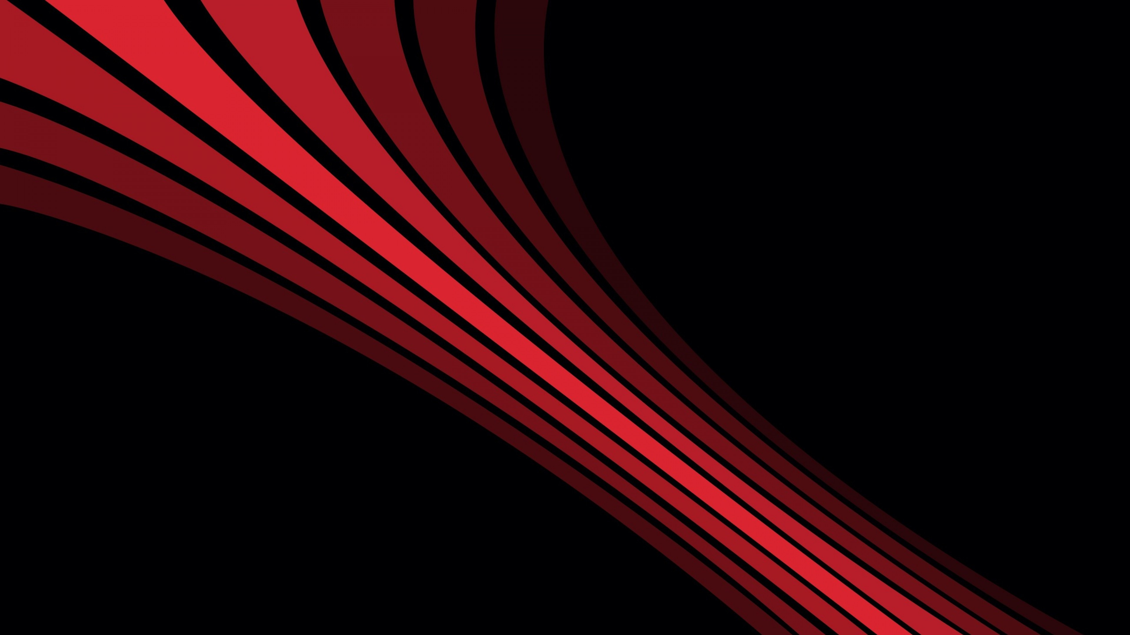 Shadow, Stripes, Shape, Black, Red Wallpaper, Background 4K .