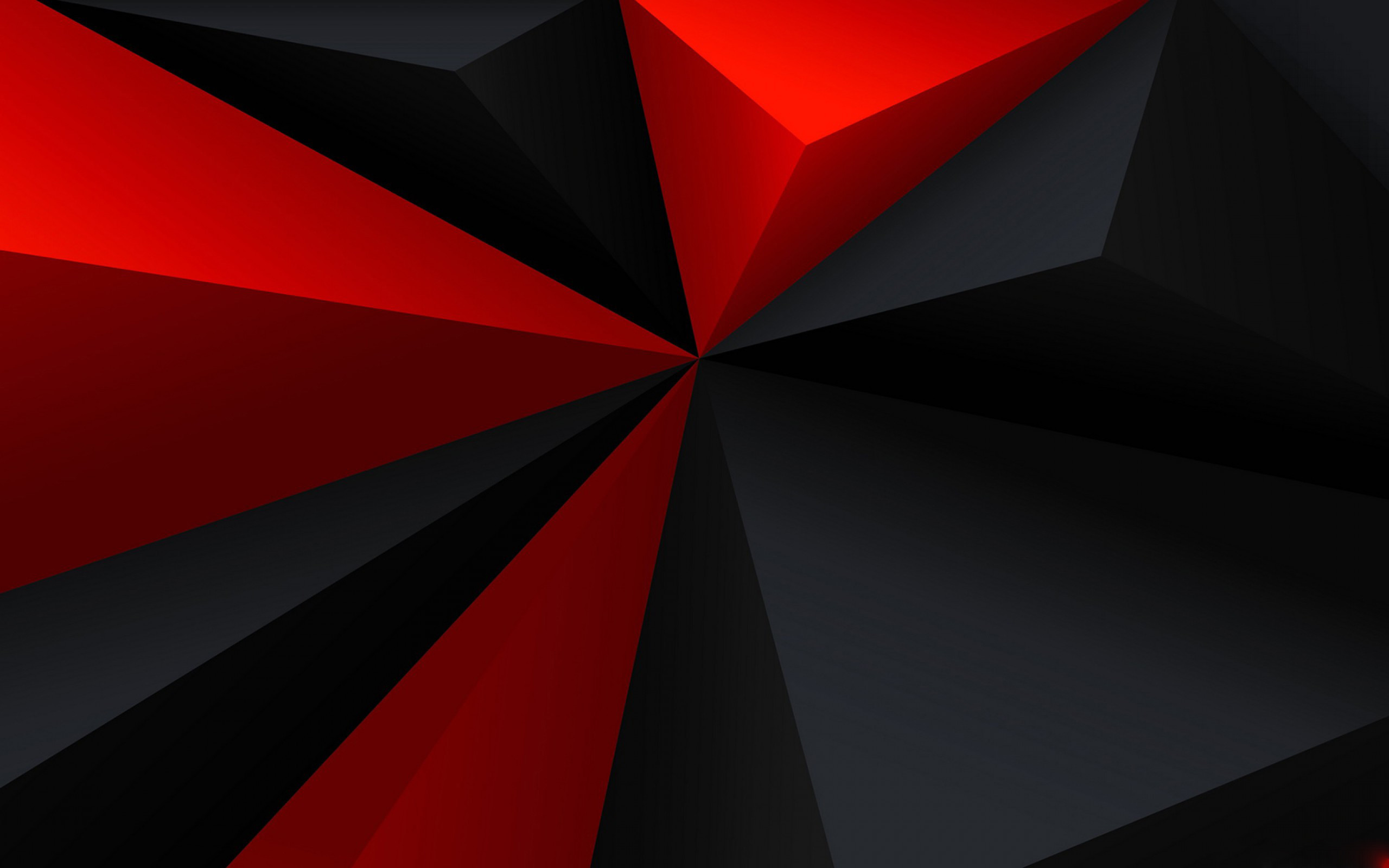 Red And Black 4k