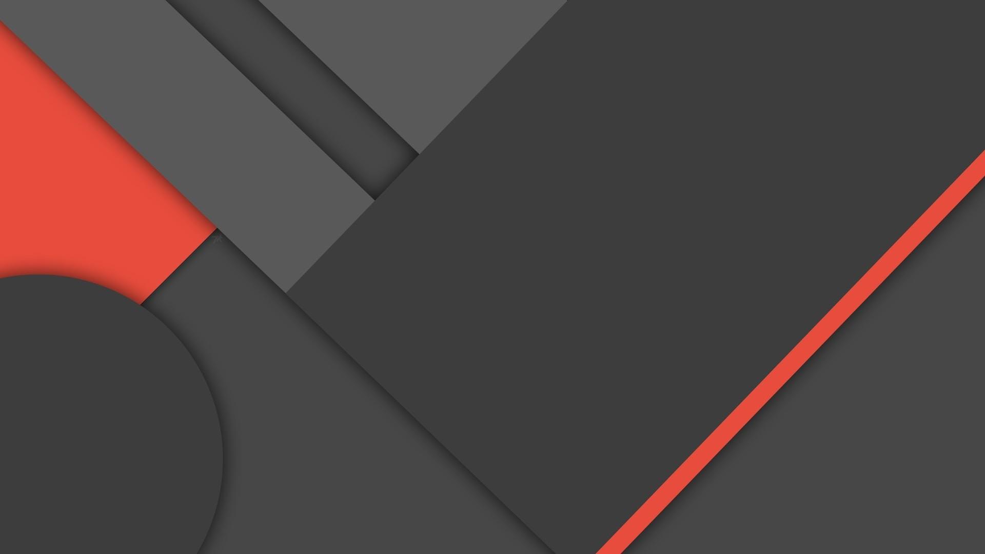 4K HD Wallpaper: Dark Material Design