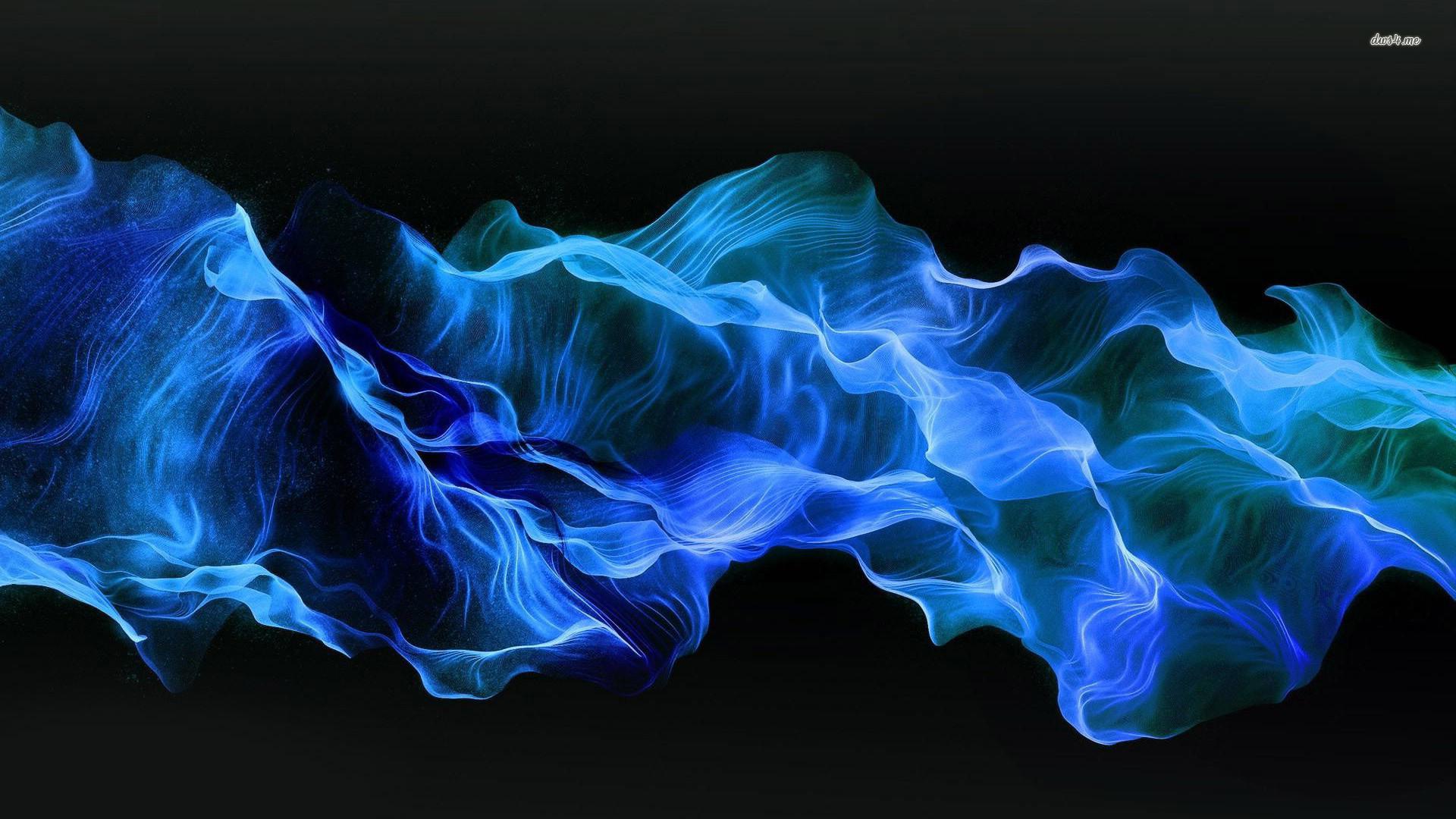 Blue smoke wallpaper – Abstract wallpapers – #12627