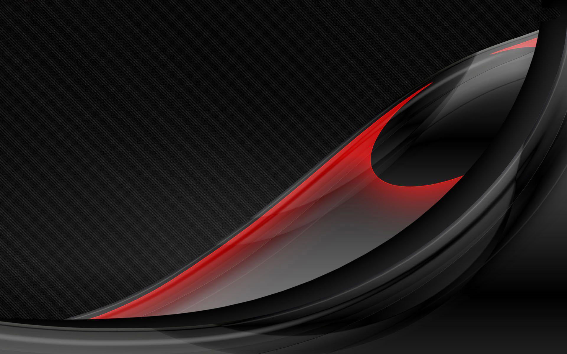 Black and red feather abstract wallpapers.