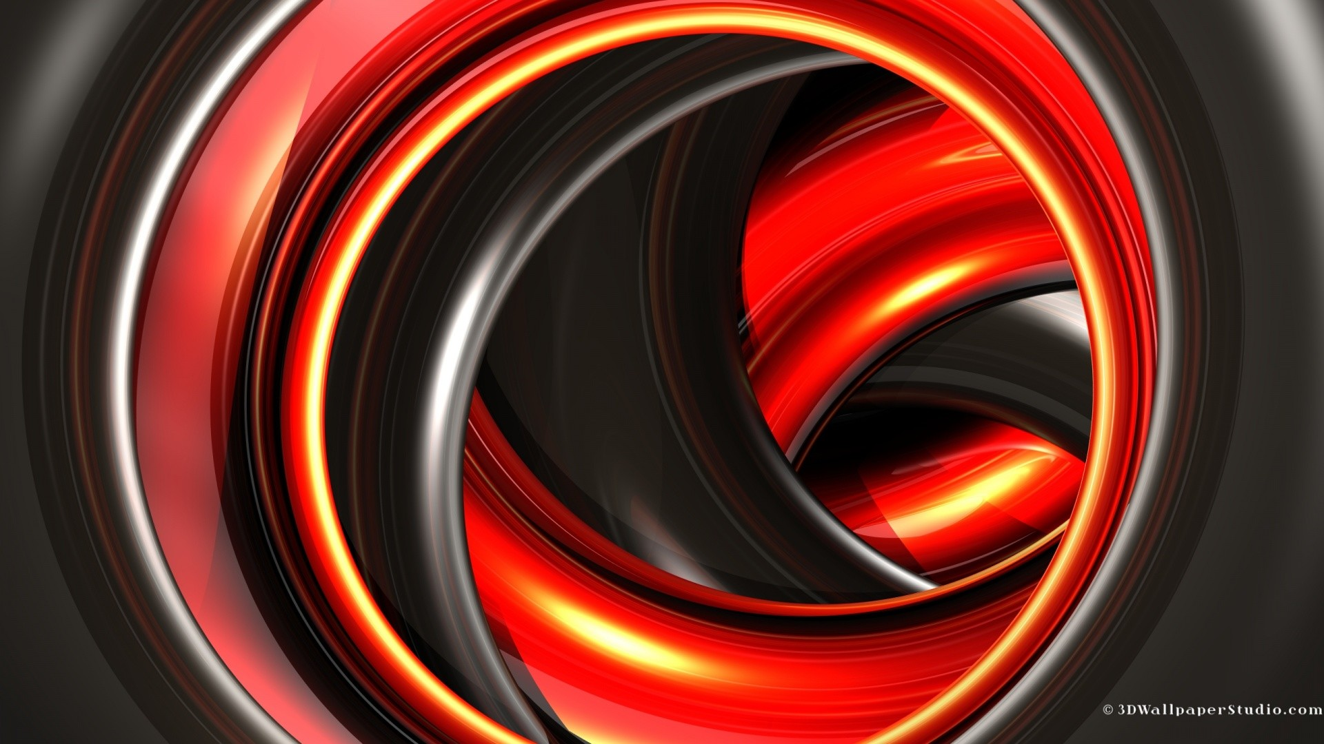 Black and red 3d abstract wallpaper in screen resolution
