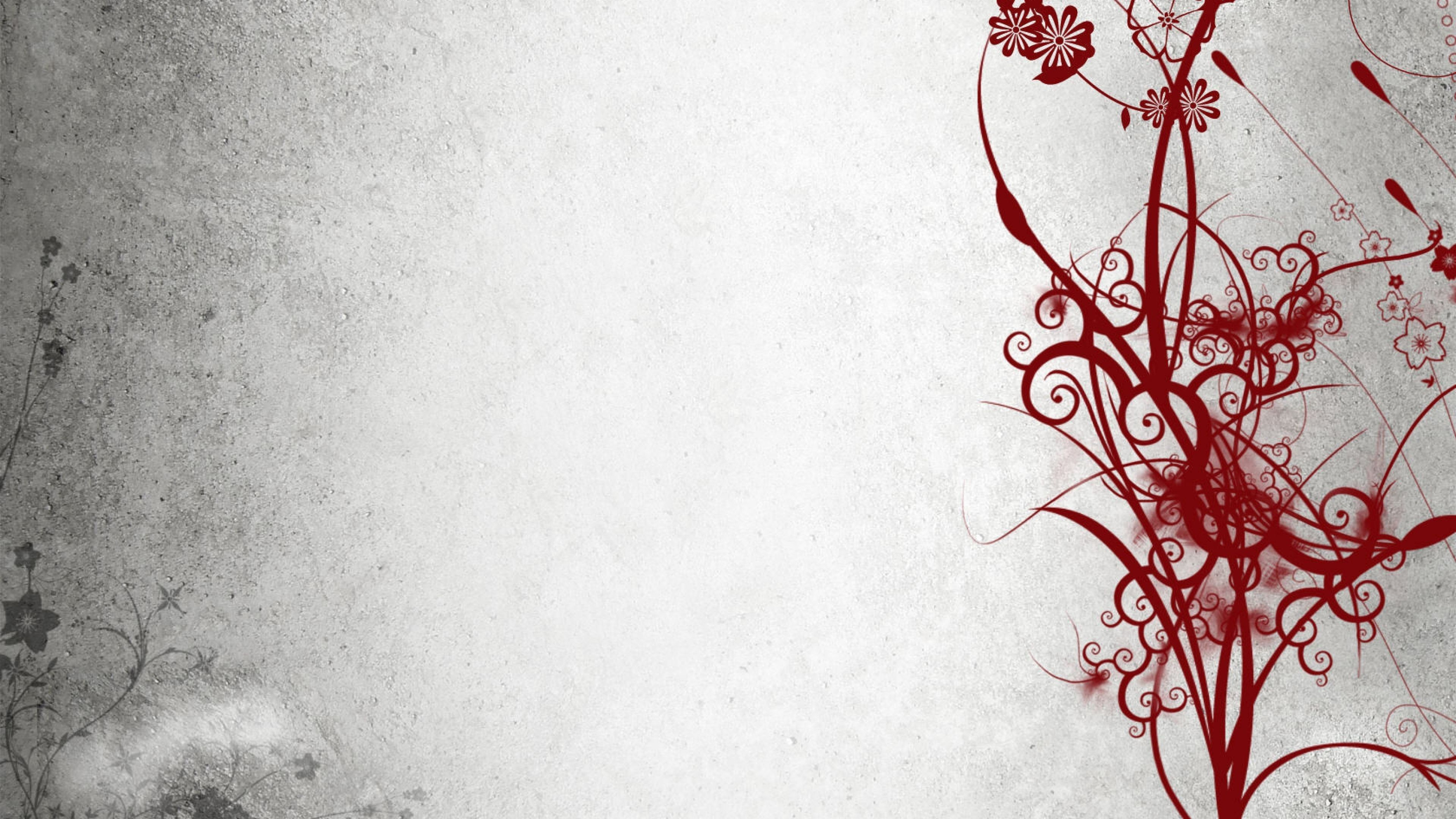 Download Wallpaper Abstract, Black, White, Red 4K Ultra .