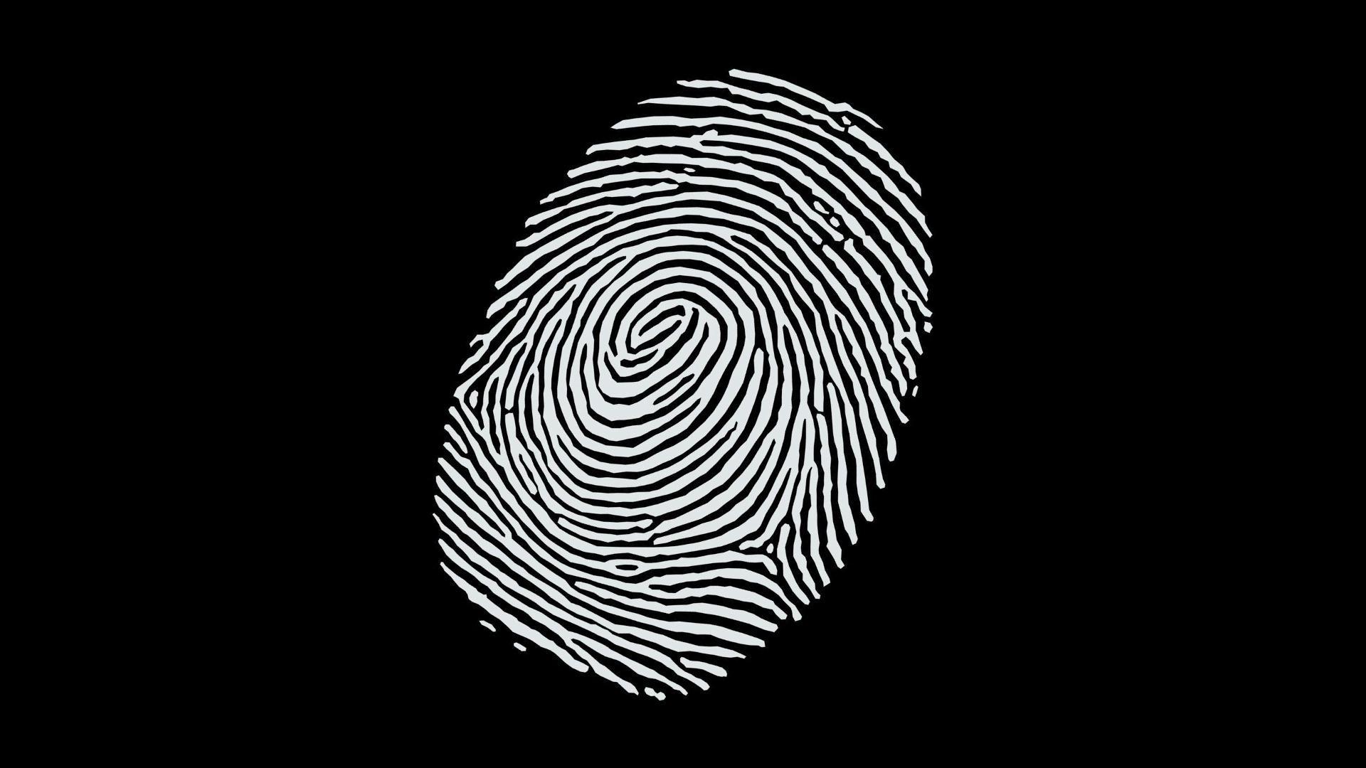 minimalism, Black Background, Black, White, Abstract, Monochrome,  Fingerprints Wallpapers HD / Desktop and Mobile Backgrounds