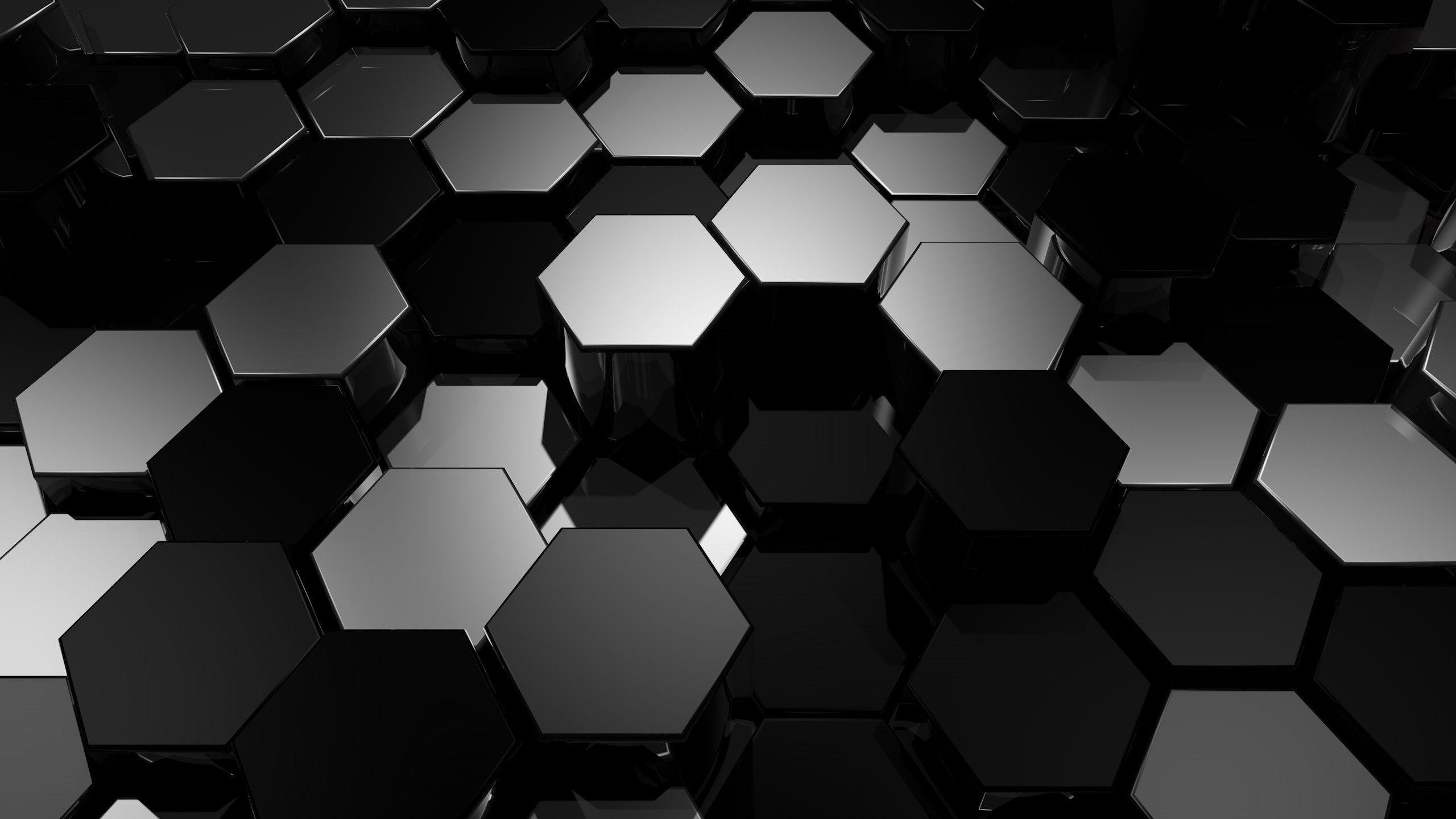 Abstract black desktop wallpaper