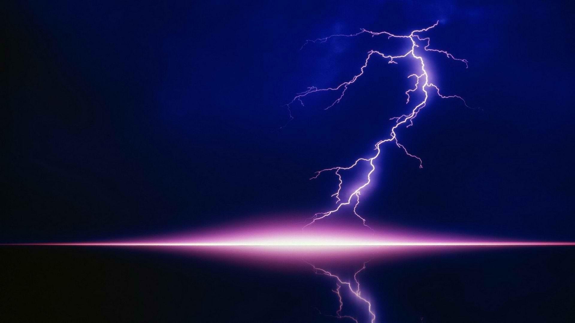 HD Wallpapers – Download Purple Lightning Wallpaper   100% High .