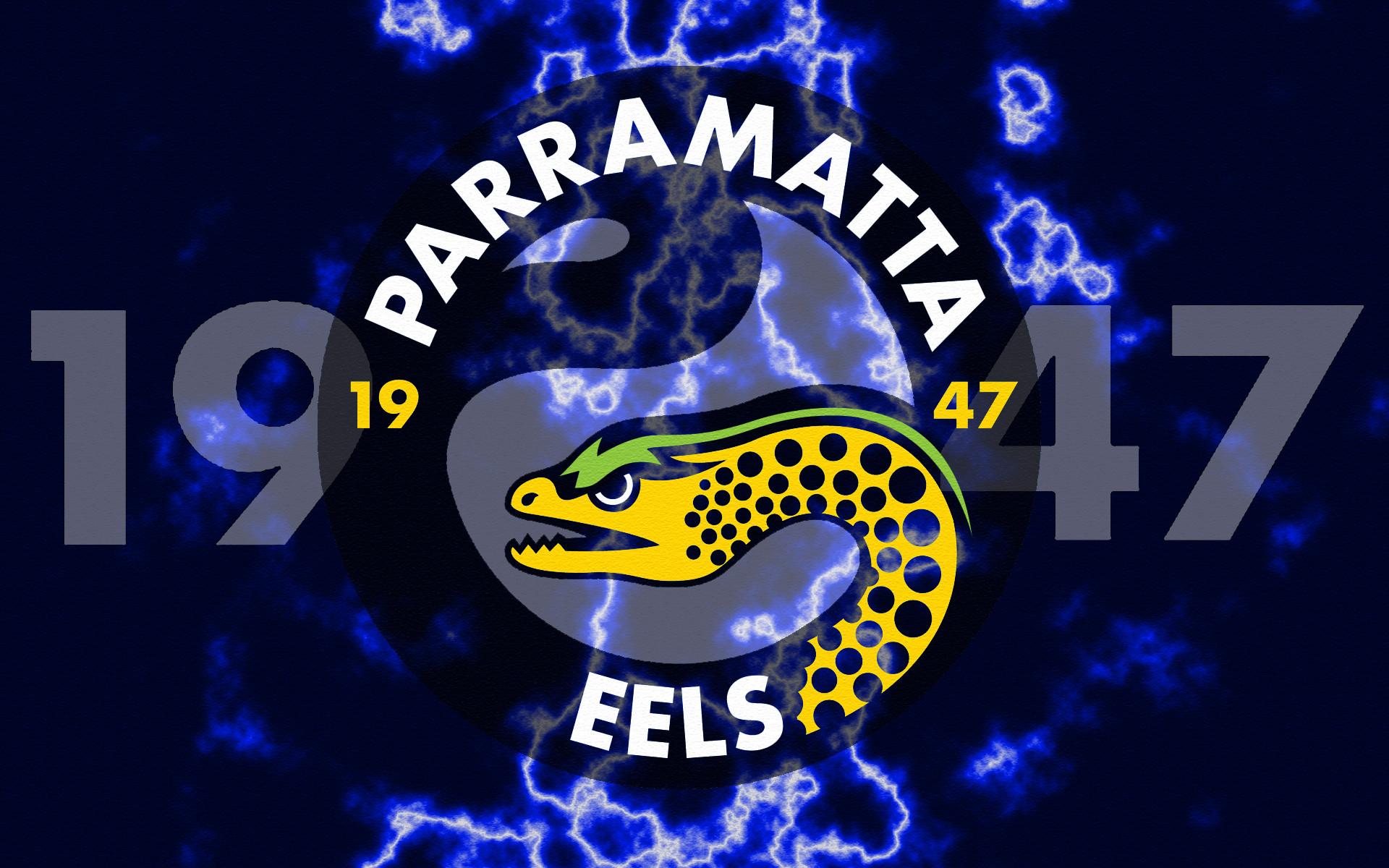 Parramatta Eels 1947 Lightning Wallpaper by Sunnyboiiii