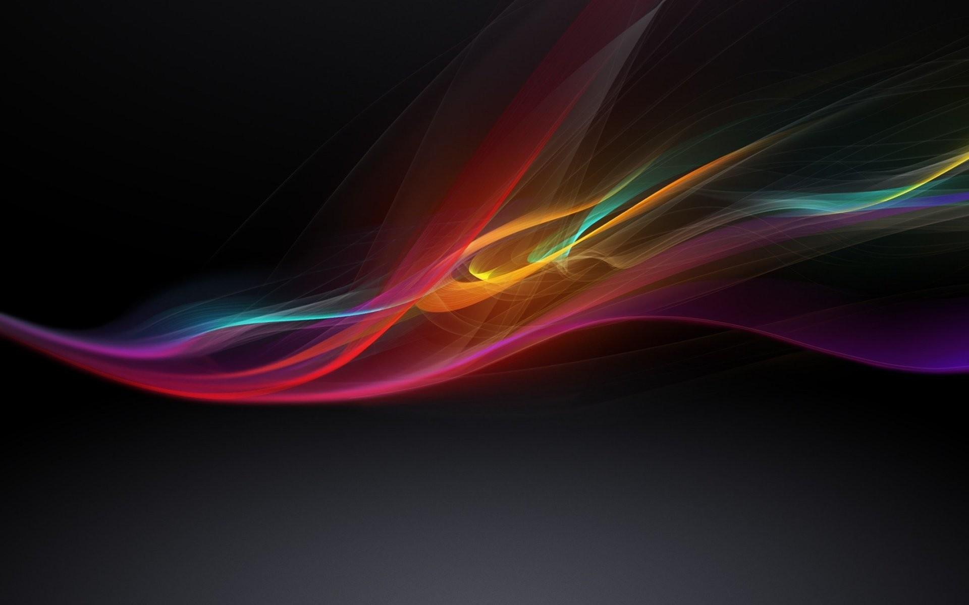 Art color Black Background Wallpaper