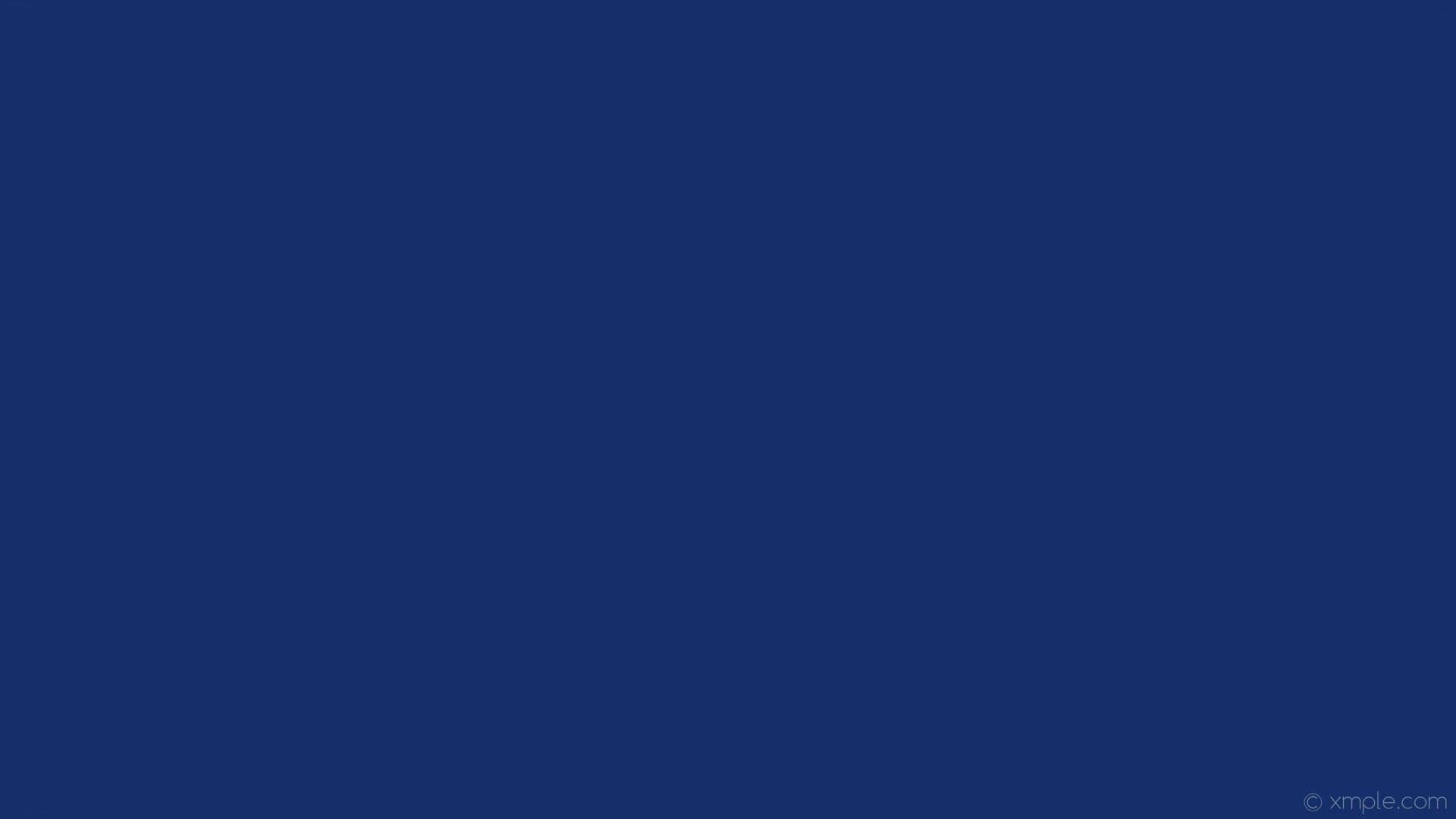 wallpaper solid color azure plain one colour single #142f6a