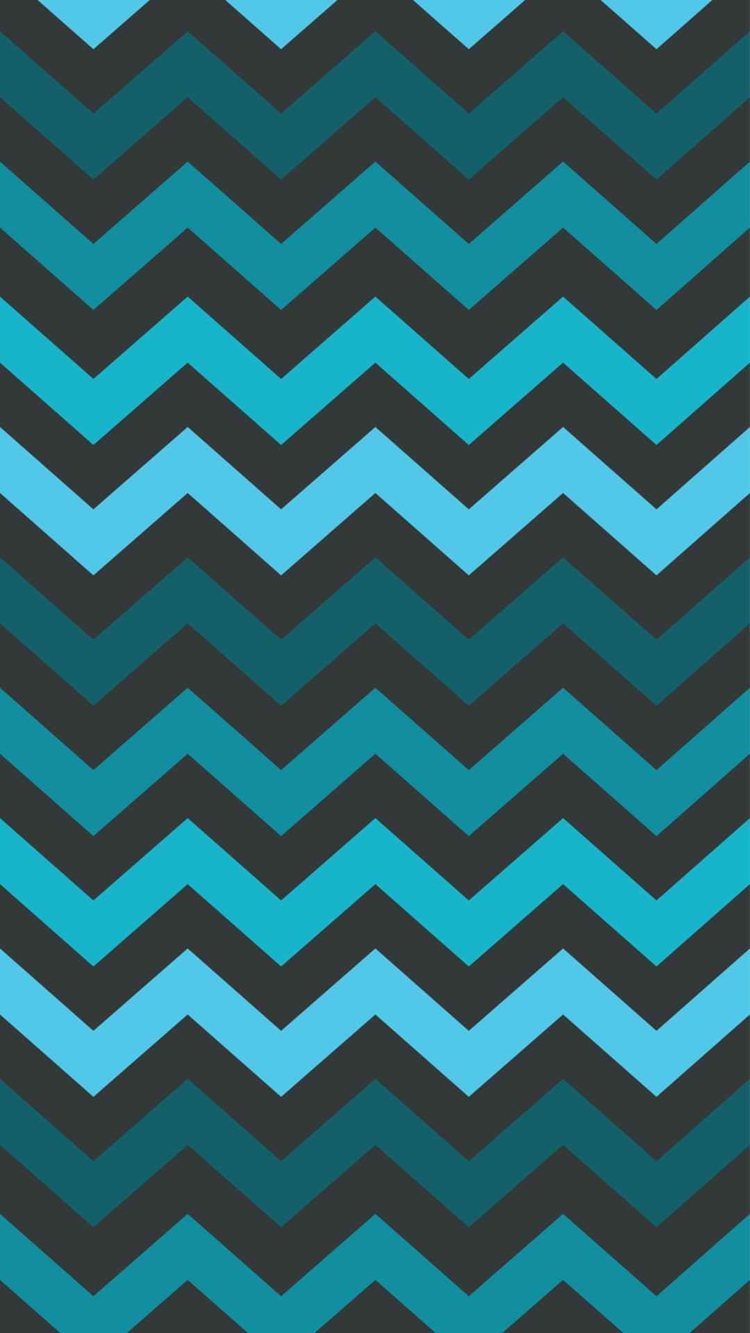 Chevron Dim Blue and Black iPhone 6 Plus Wallpaper – Zigzag Pattern,  #iPhone #