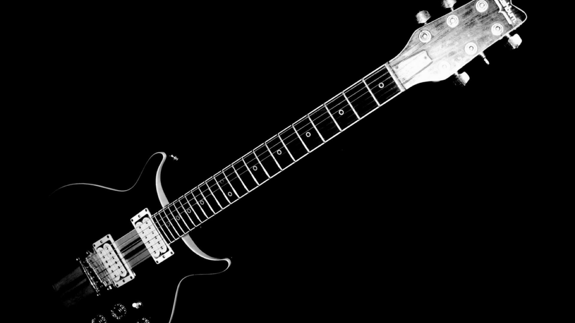 Black-guitar-music-hd-wallpapers-background