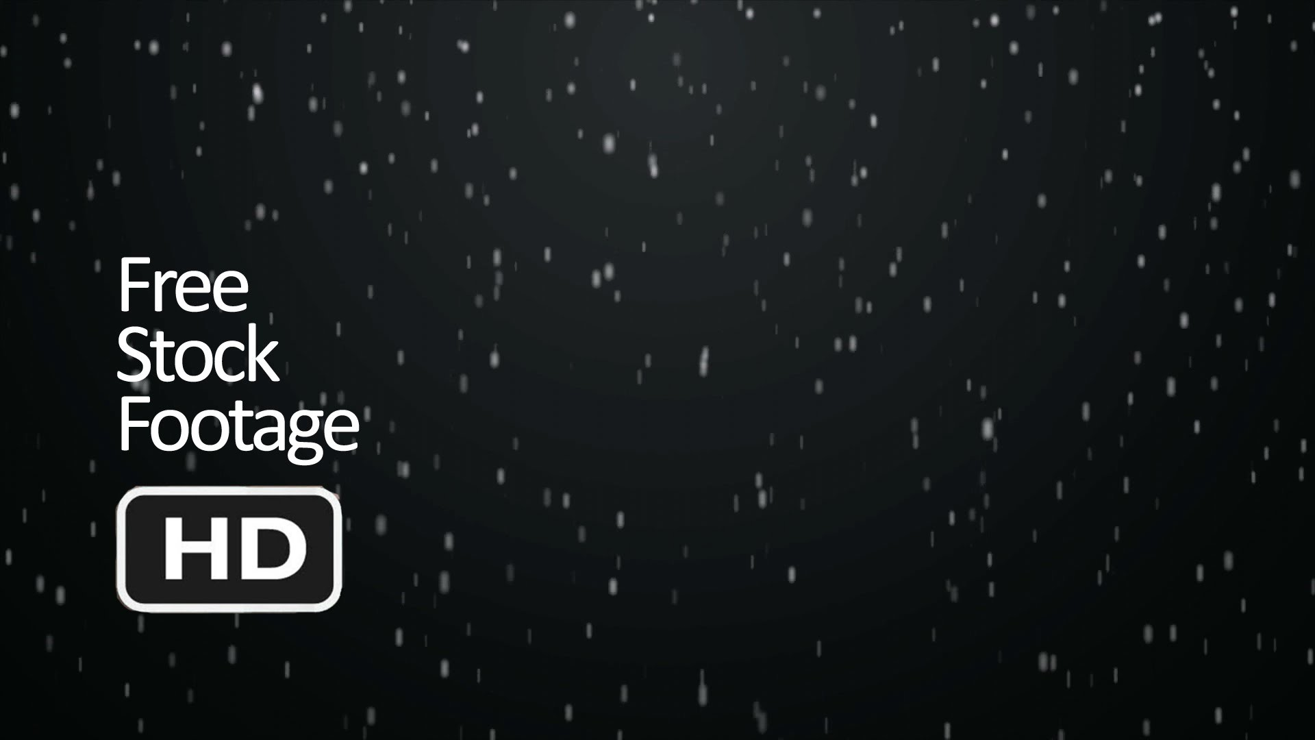 Free Stock Video Footage – Snowfall (Black background) HD 1080 – YouTube