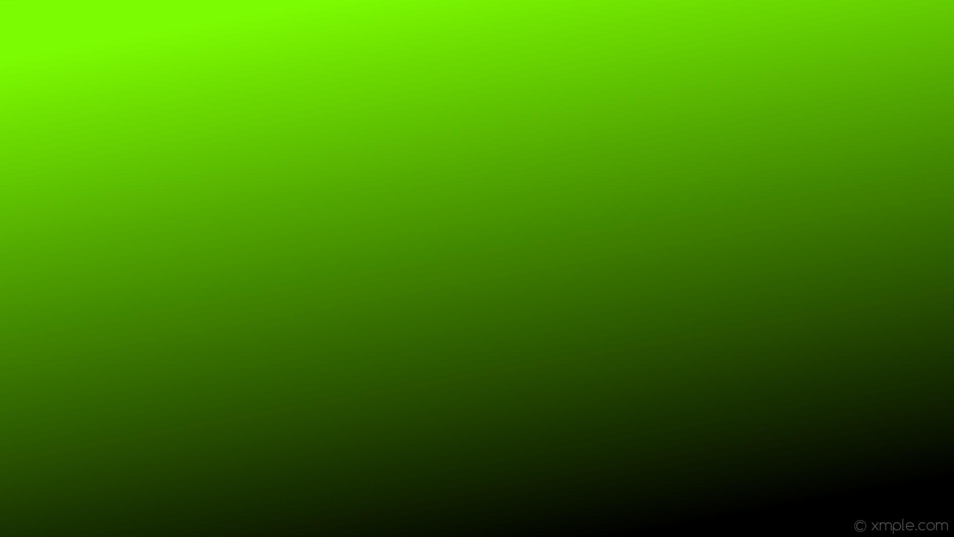 wallpaper green linear black gradient lawn green #7cfc00 #000000 120°