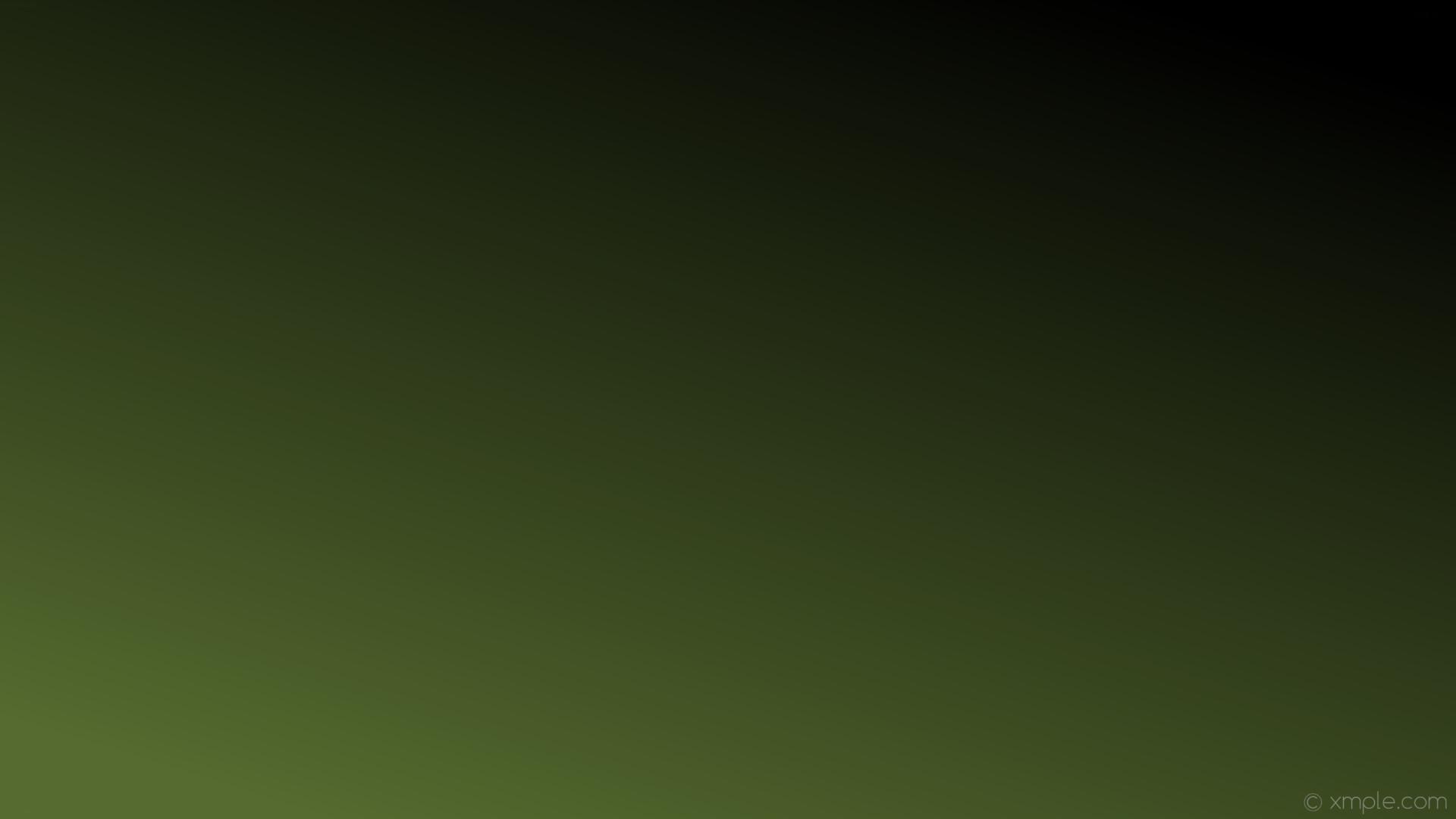 wallpaper black gradient linear green dark olive green #556b2f #000000 225°