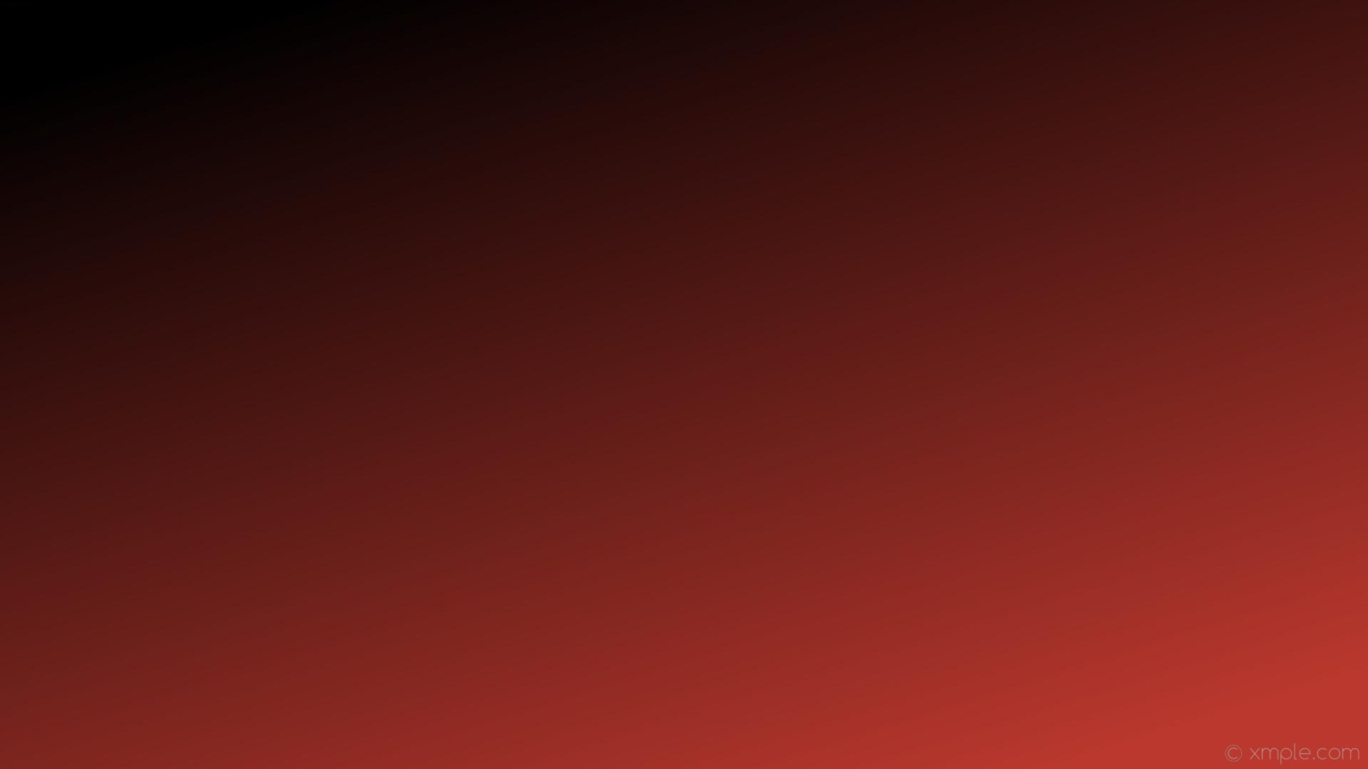wallpaper linear red black gradient #bb382e #000000 315°