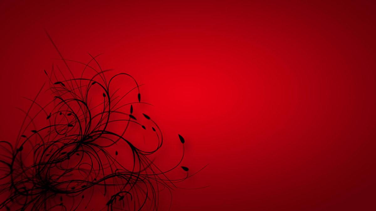Beautiful Red & Black Wallpaper