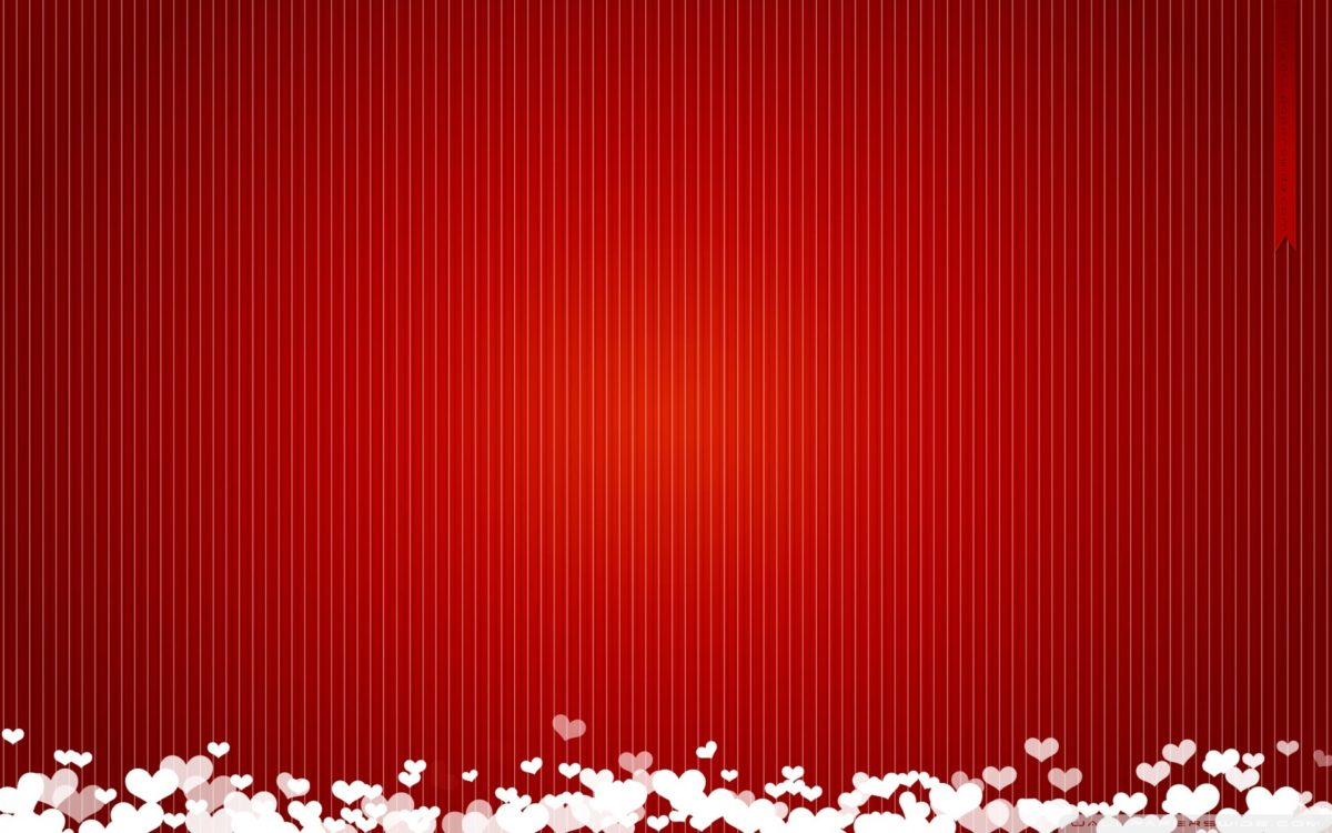 Heart Red Background HD PC