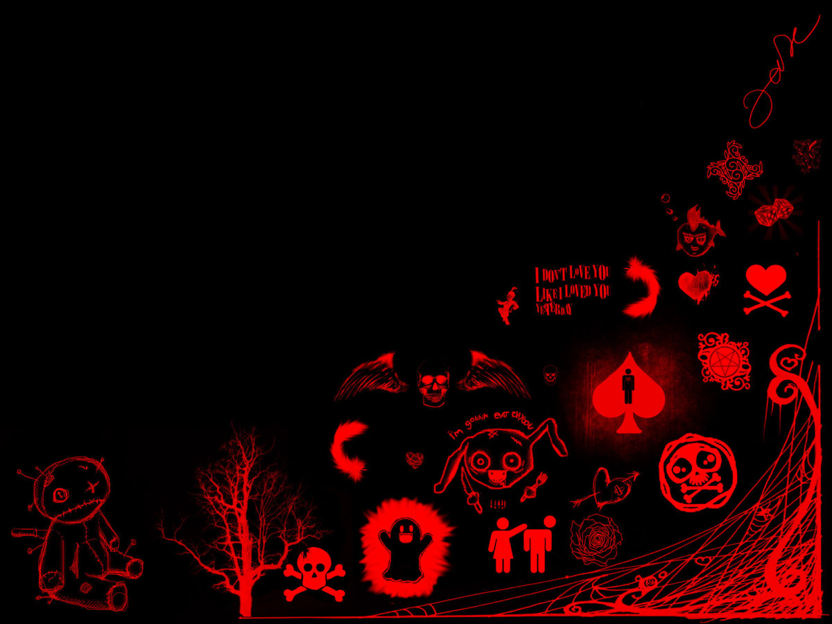 Skull Formspring Backgrounds Red And Black Skull Wallpapers Wallpapers)