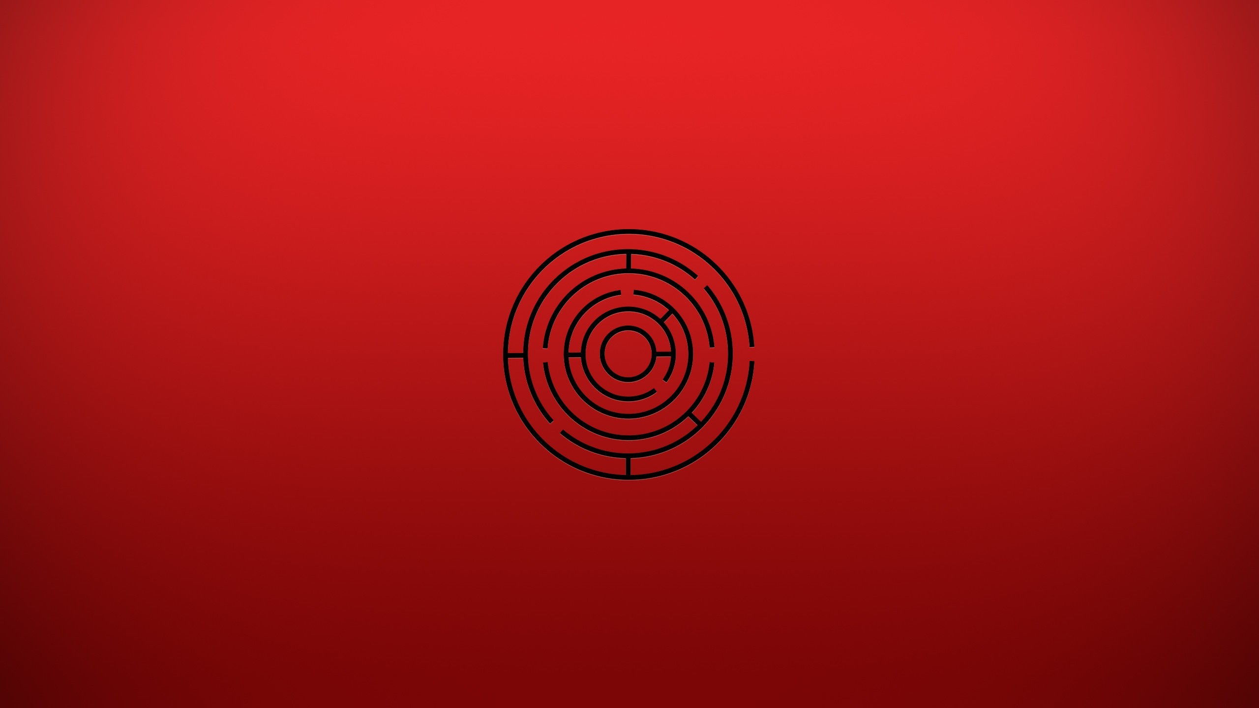 Red Maze Wallpaper Background 61182