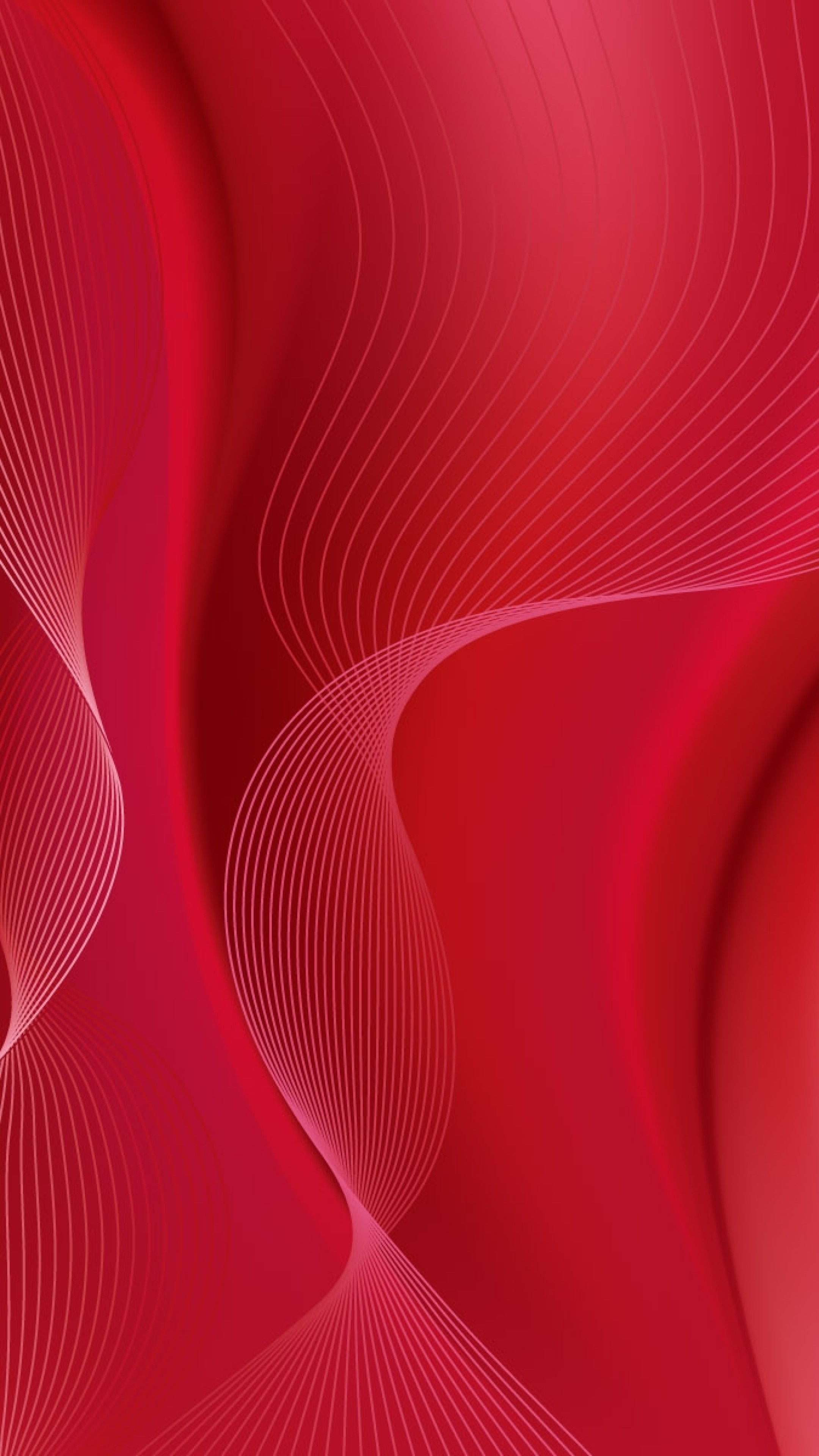 Wallpaper lines, red, background, wave