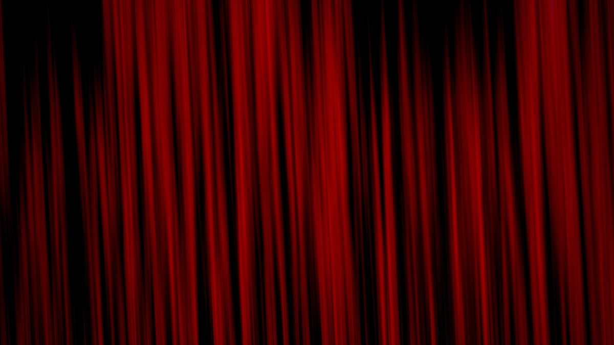Wallpaper texture, abstract, red, curtains, background
