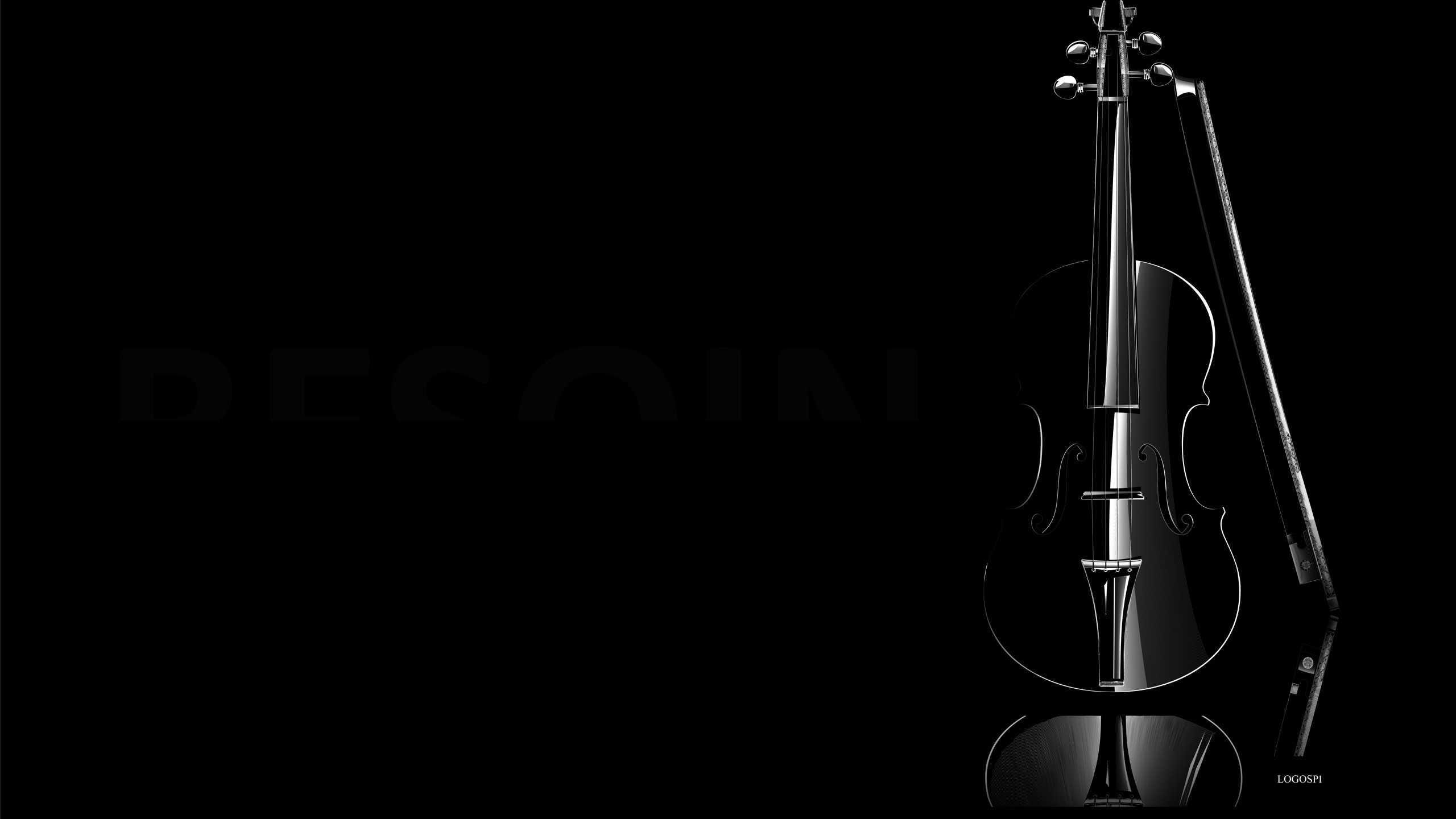 black violin. How to set wallpaper on your desktop? Click the  download link from above and set the wallpaper on the desktop from your OS.