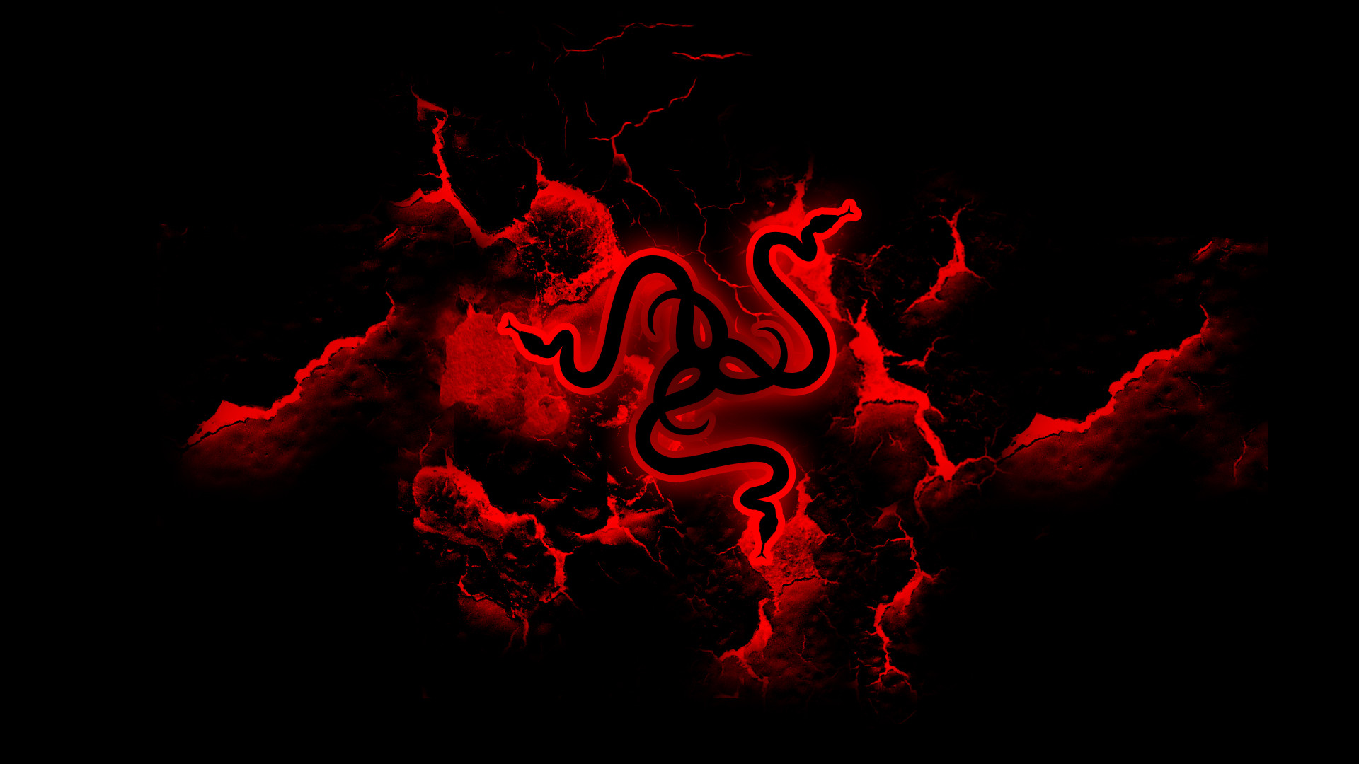 1080p Wallpaper Razer Red Logo | Bathroom Decor