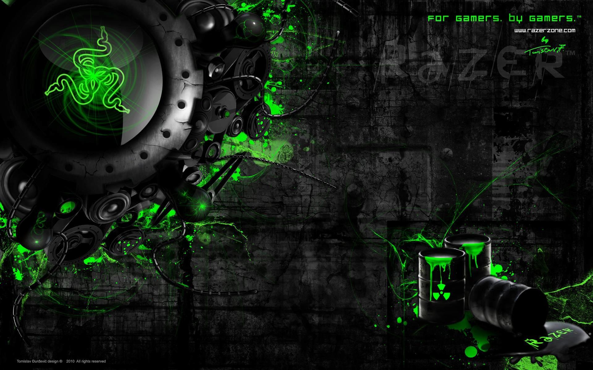 Razer Desktop WallPaper HD – IMASHON.