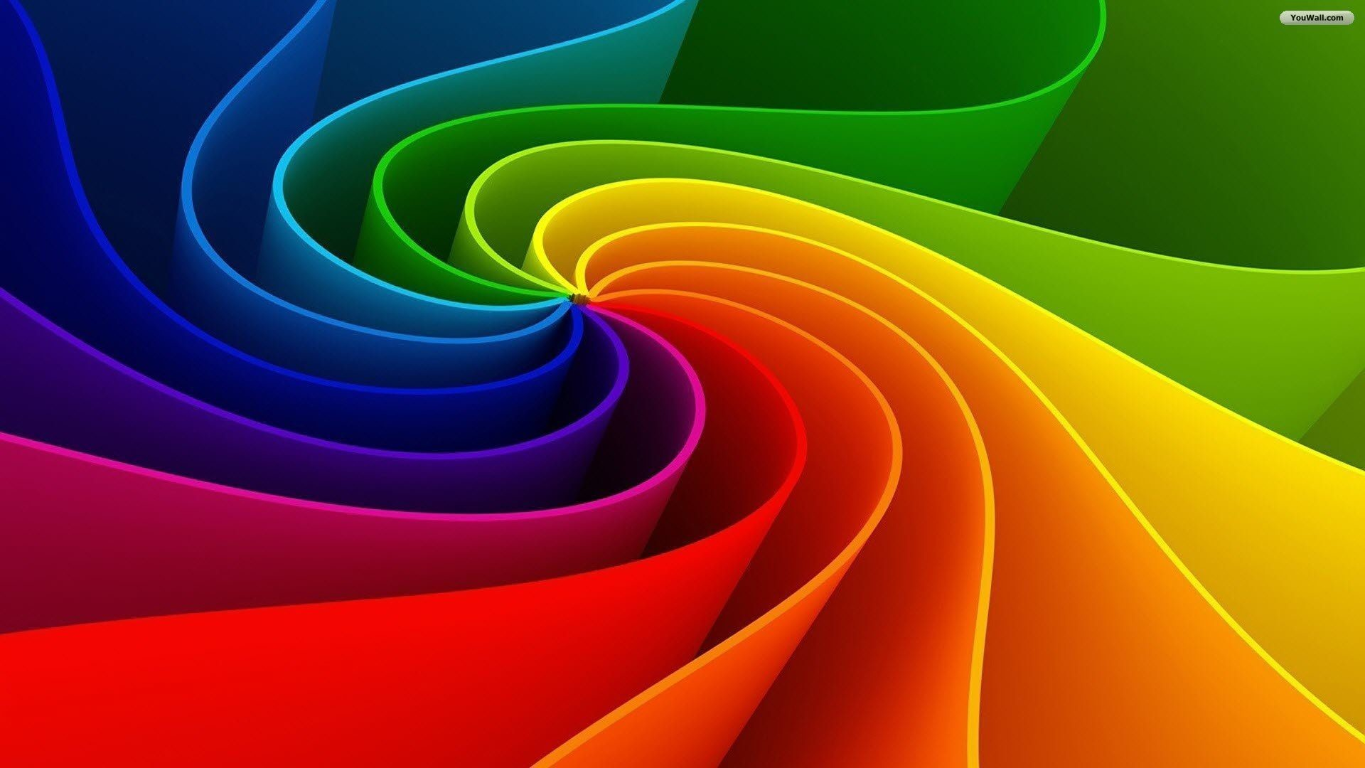 Top Abstract Rainbow Background Wallpaper Images for Pinterest