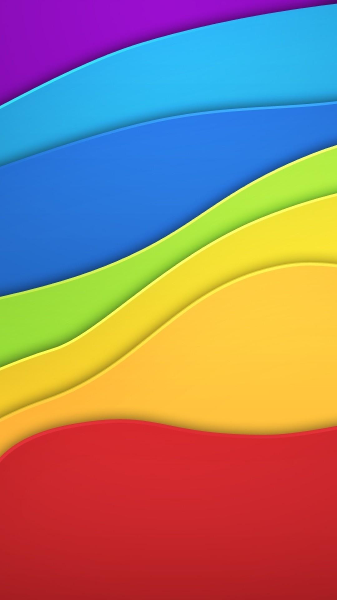 Wallpaper color, paint, rainbow, background