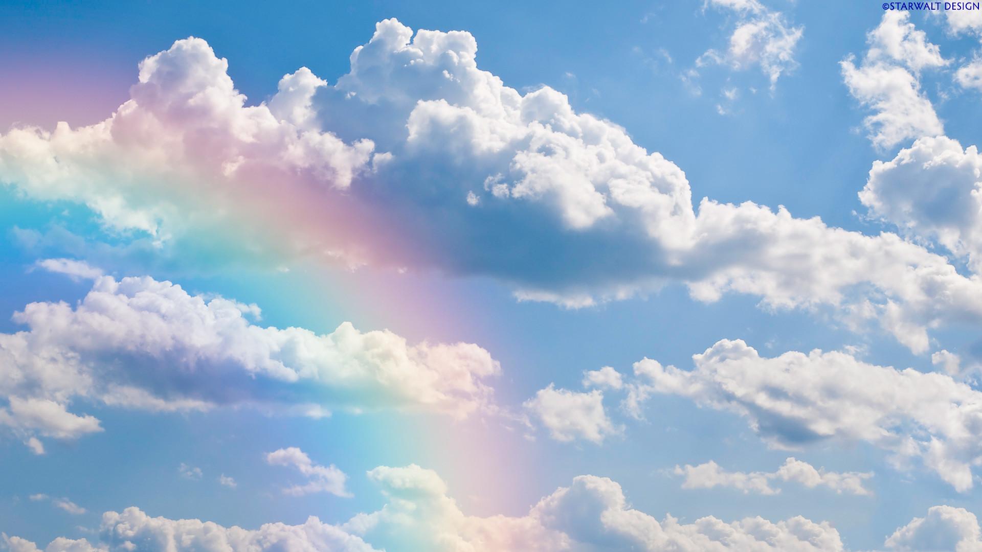 Rainbow Sky Wallpaper HD Dekstop