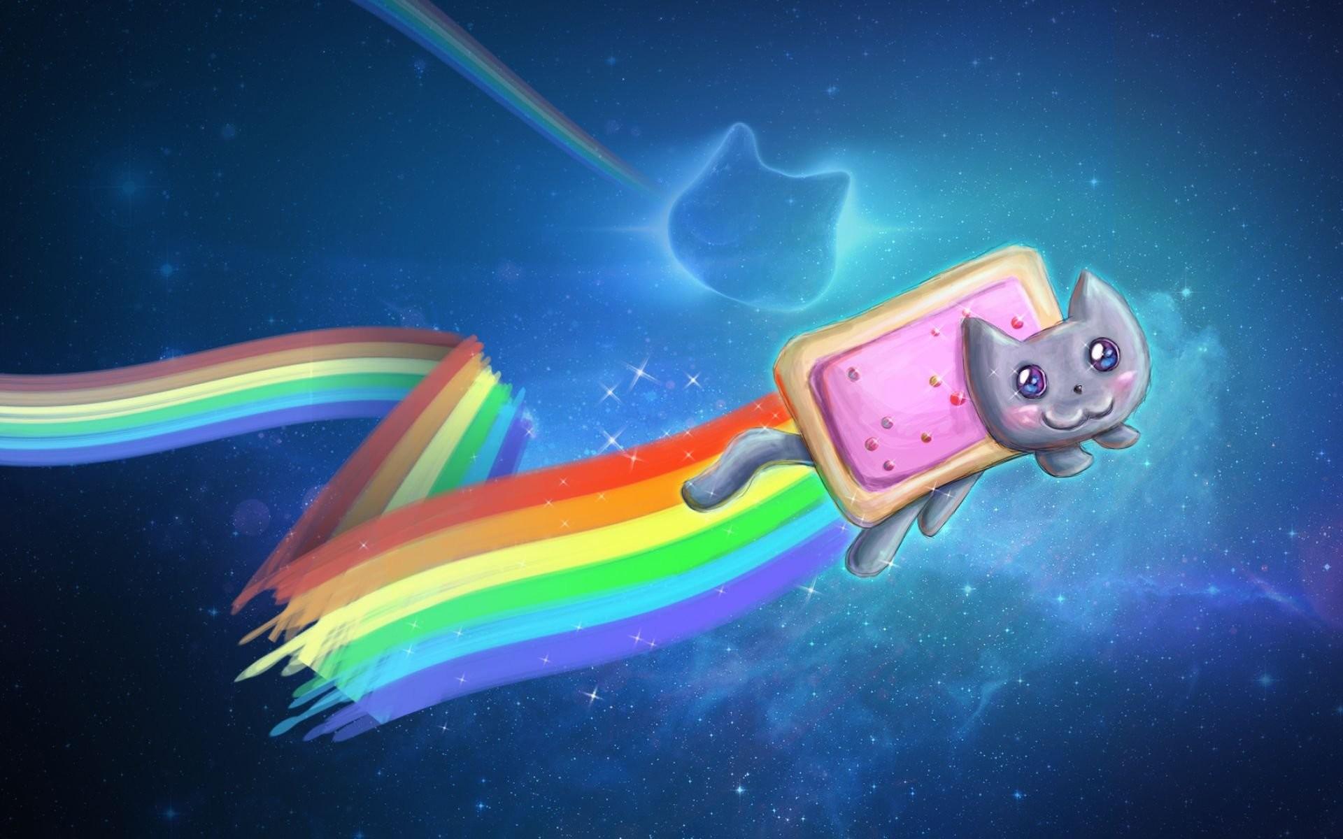 Nyan Cat Desktop Background Wallpaper – WallDevil