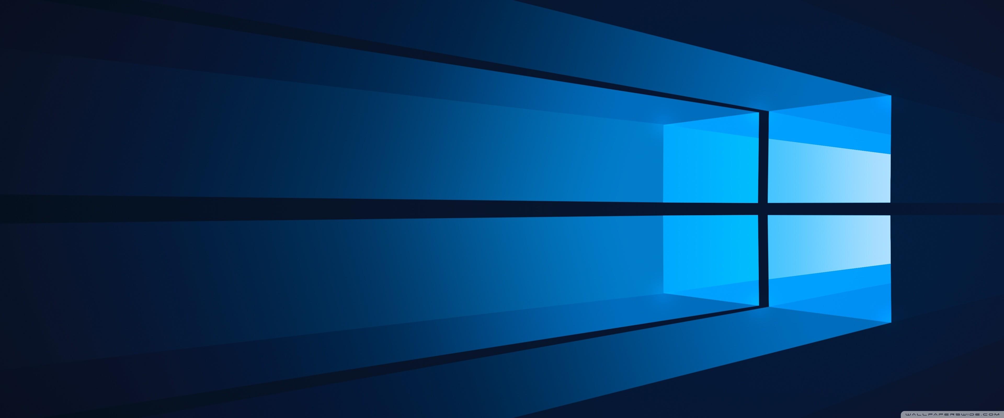 Flat Windows 10 HD desktop wallpaper : Widescreen .