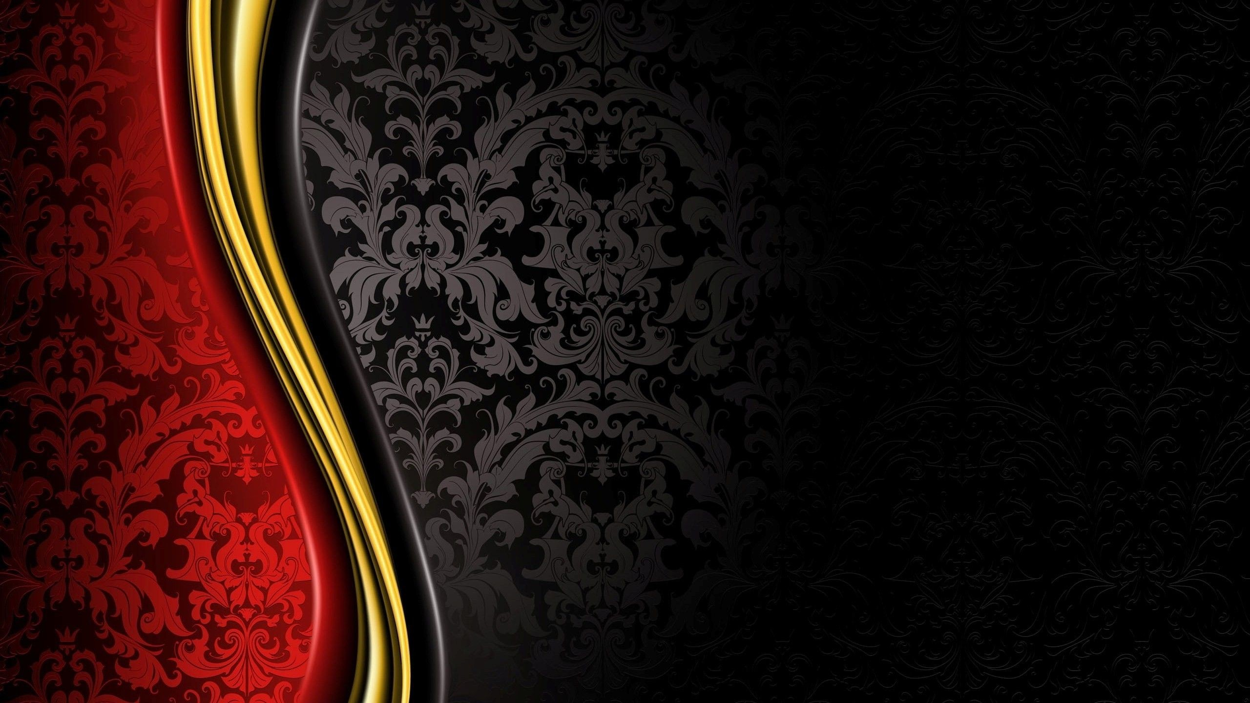 luxury, Royal, Grand, Black, Gold, Red, Abstract Wallpapers HD