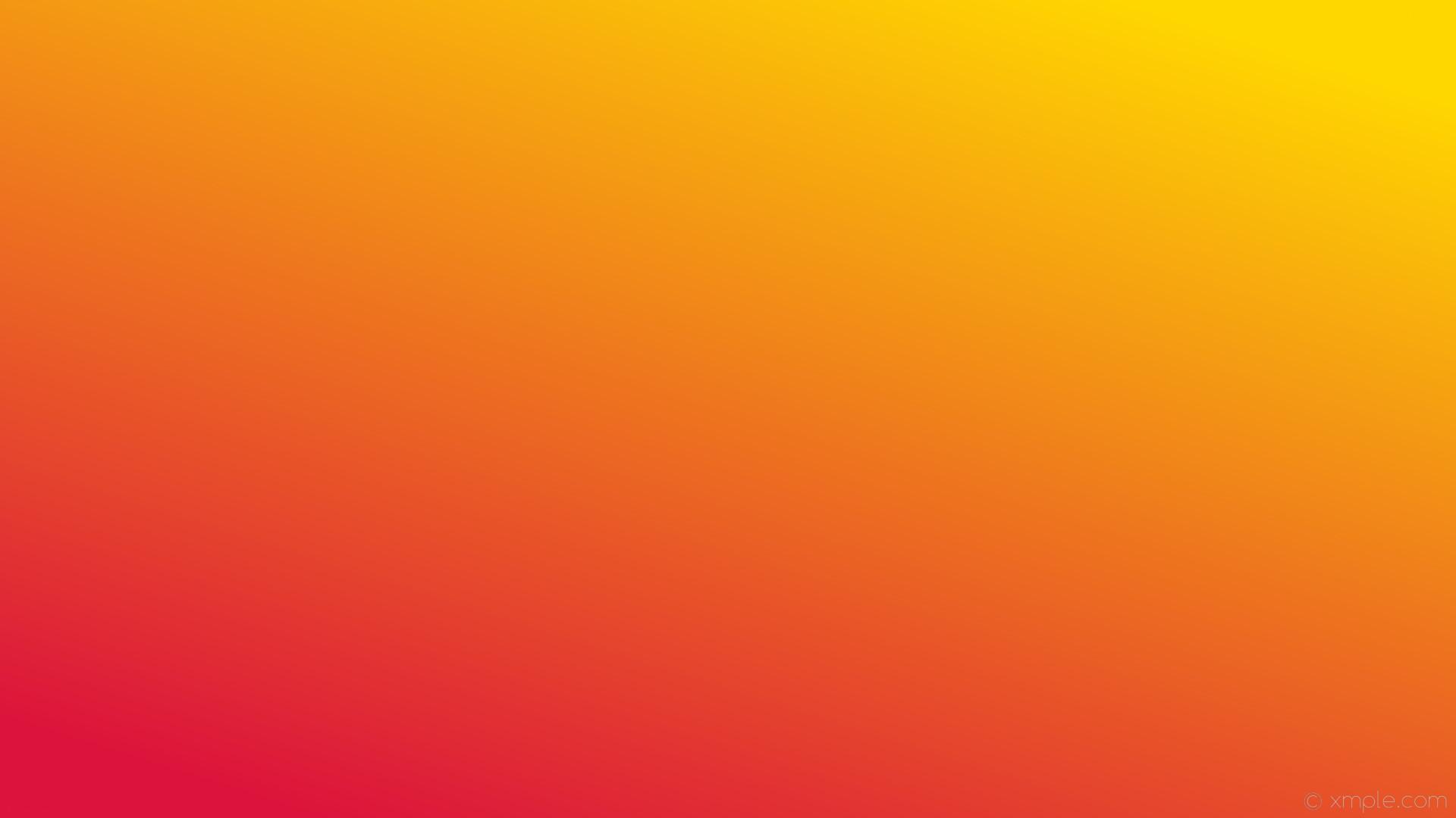 wallpaper linear gradient yellow red gold crimson #ffd700 #dc143c 45°
