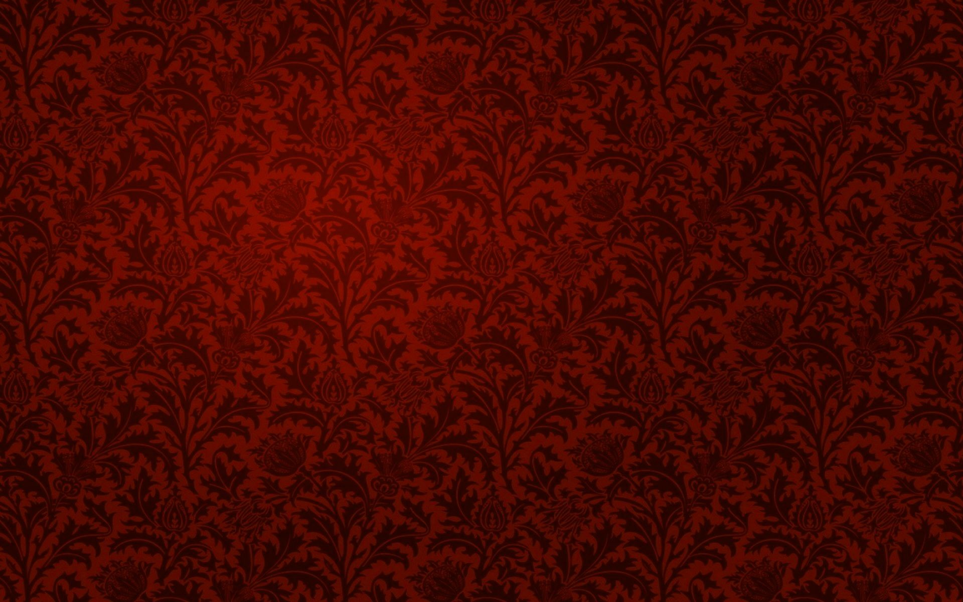Red Flocked on Gold Vintage WallpaperIMG_8511 – – 523 of 585 (1 of .