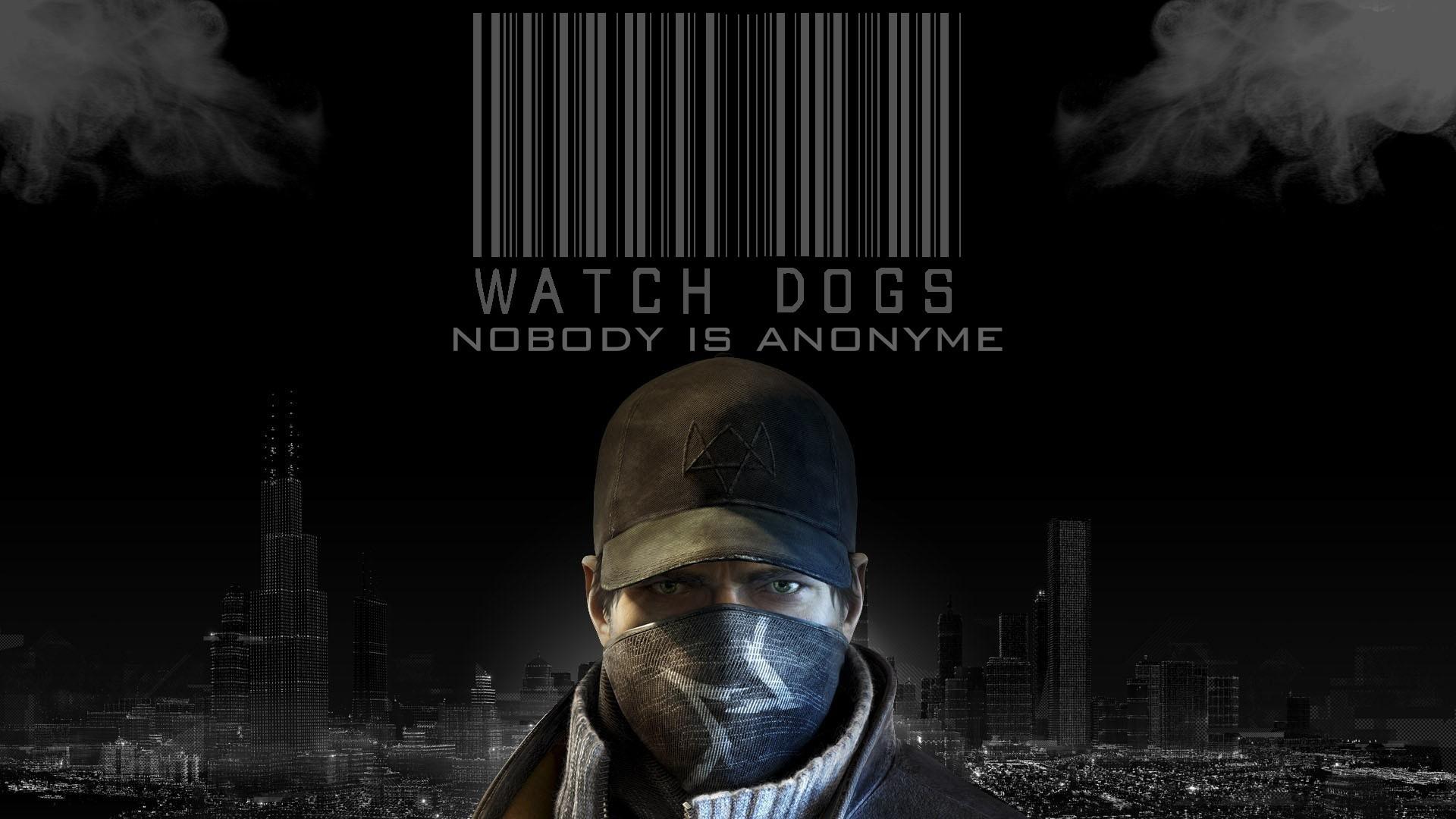 Watch Dogs Black Screen Wallpaper