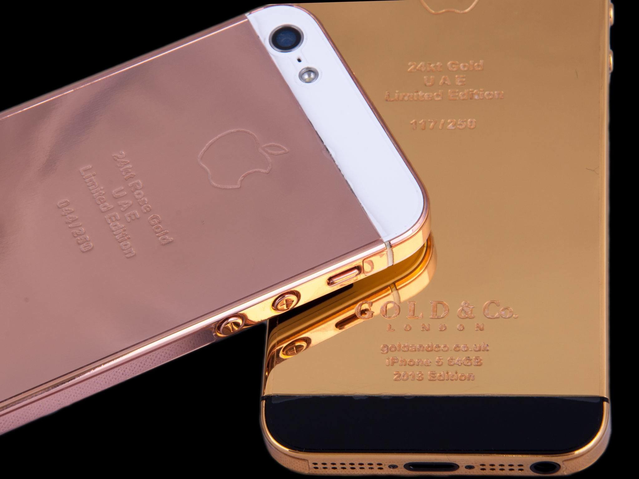 rose iphone