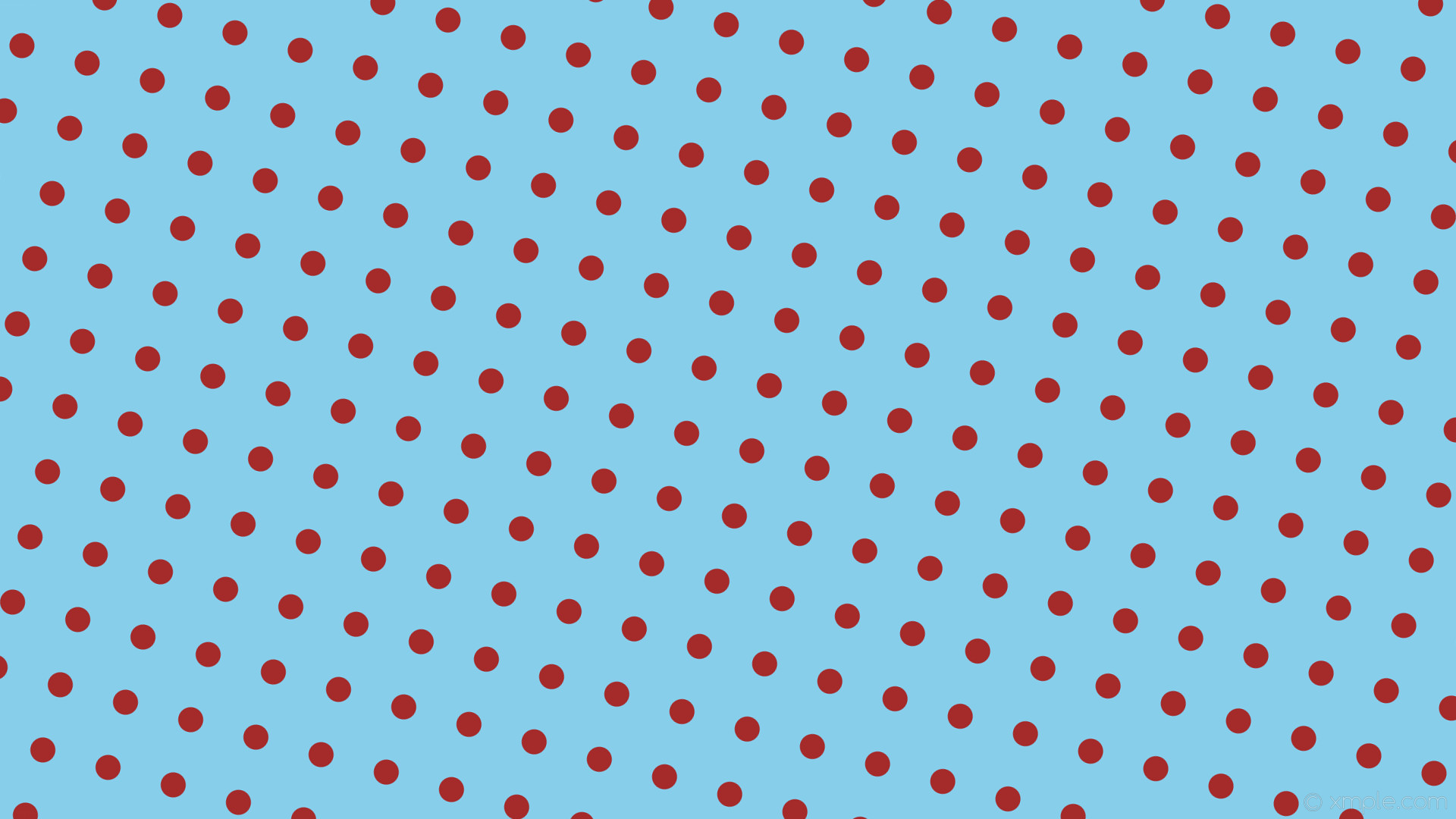wallpaper spots polka dots brown blue sky blue #87ceeb #a52a2a 345° 33px  89px