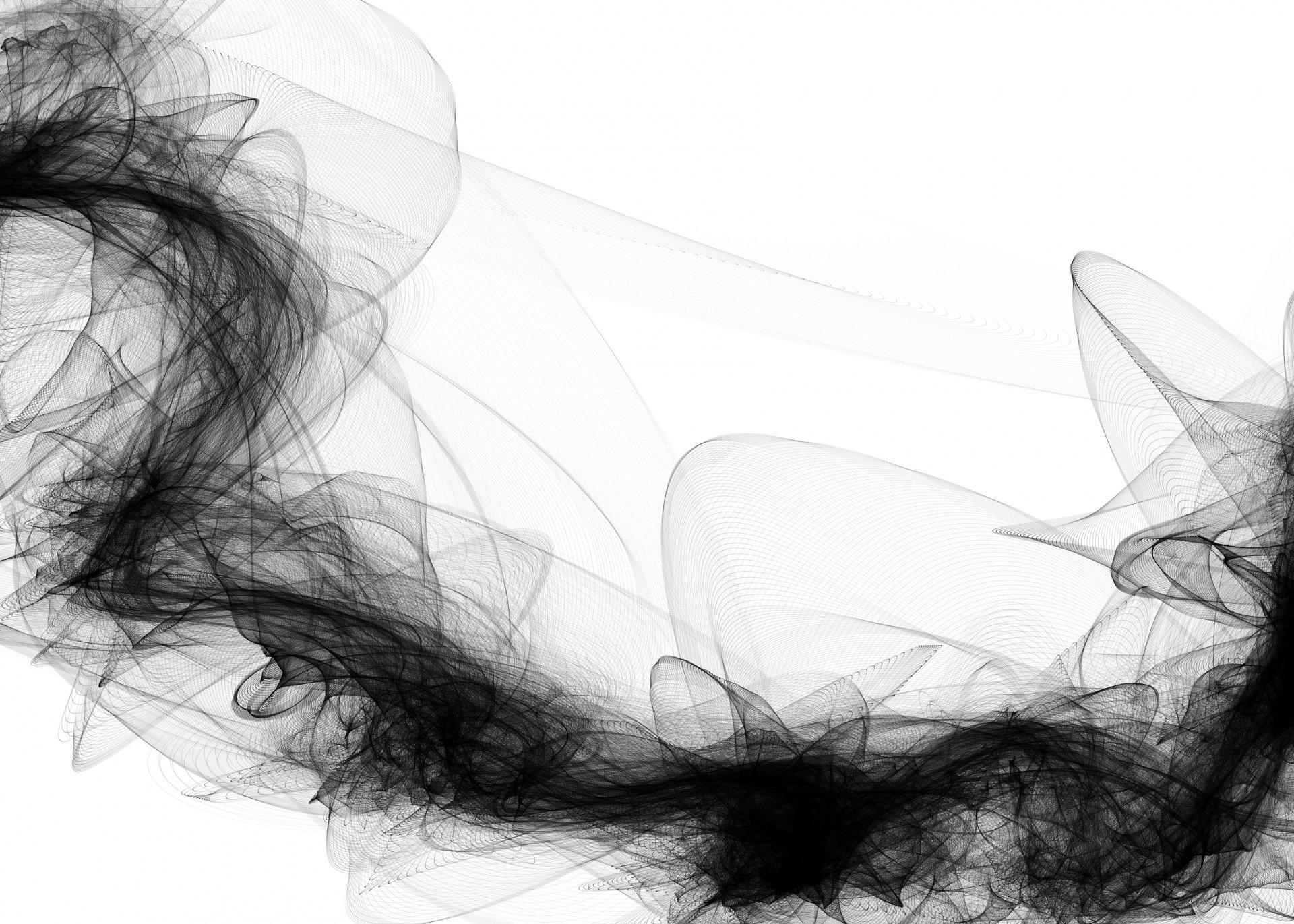 Black Smoke Background