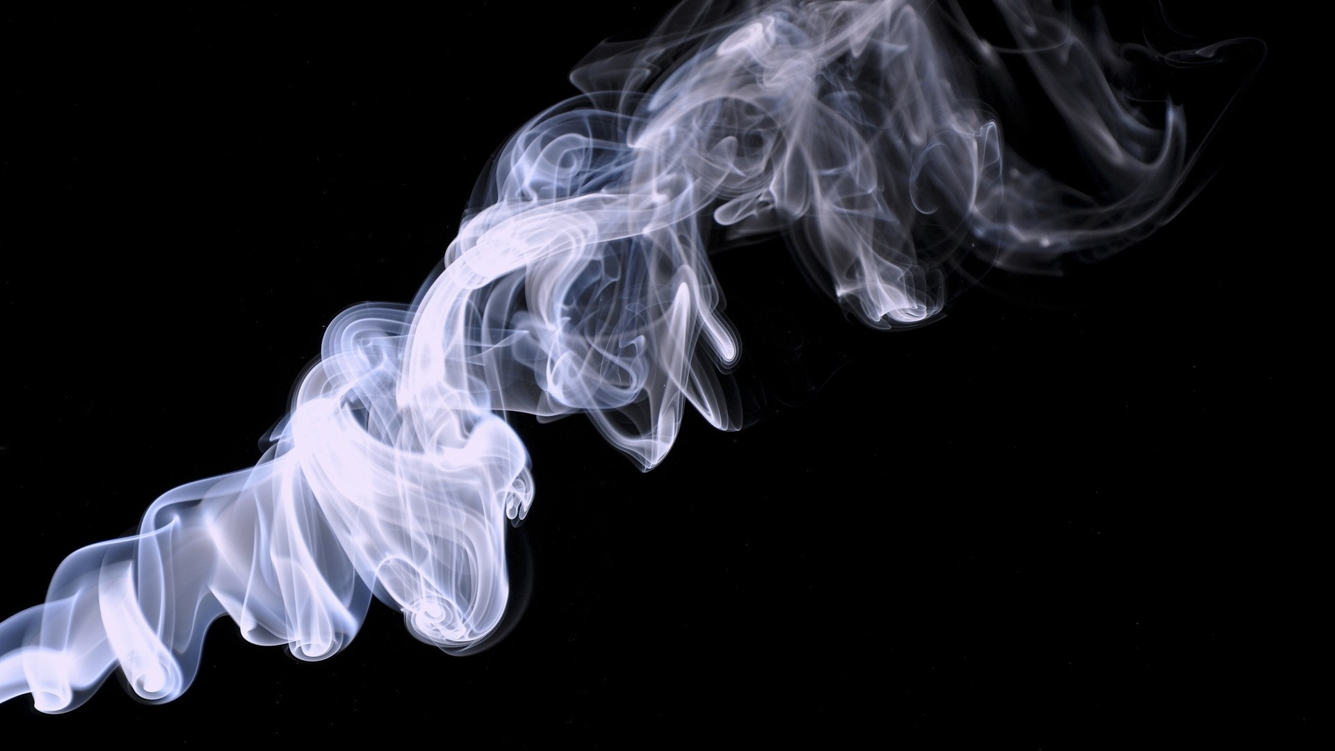 Preview wallpaper smoke, background, black 1920×1080