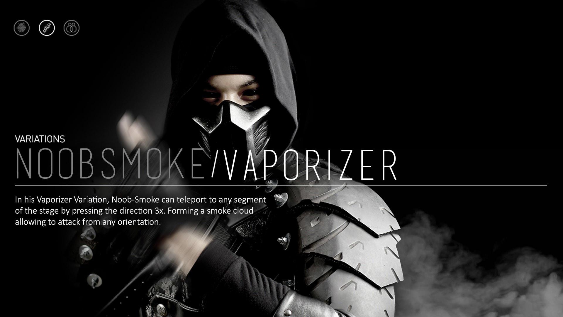 Mortal Kombat X Noob Smoke Wallpaper Wide or HD | Games Wallpapers